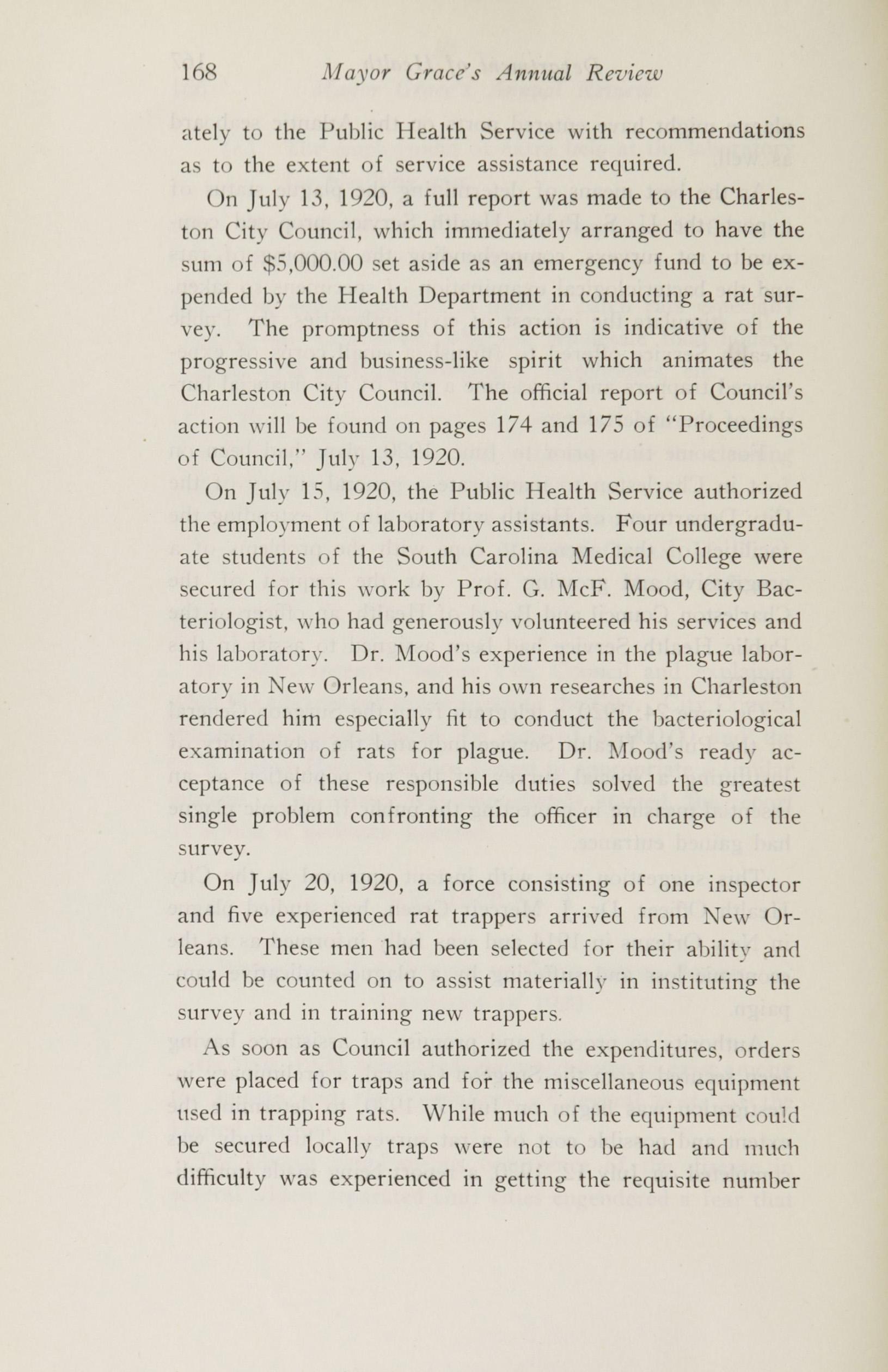 Charleston Yearbook, 1920, page 168