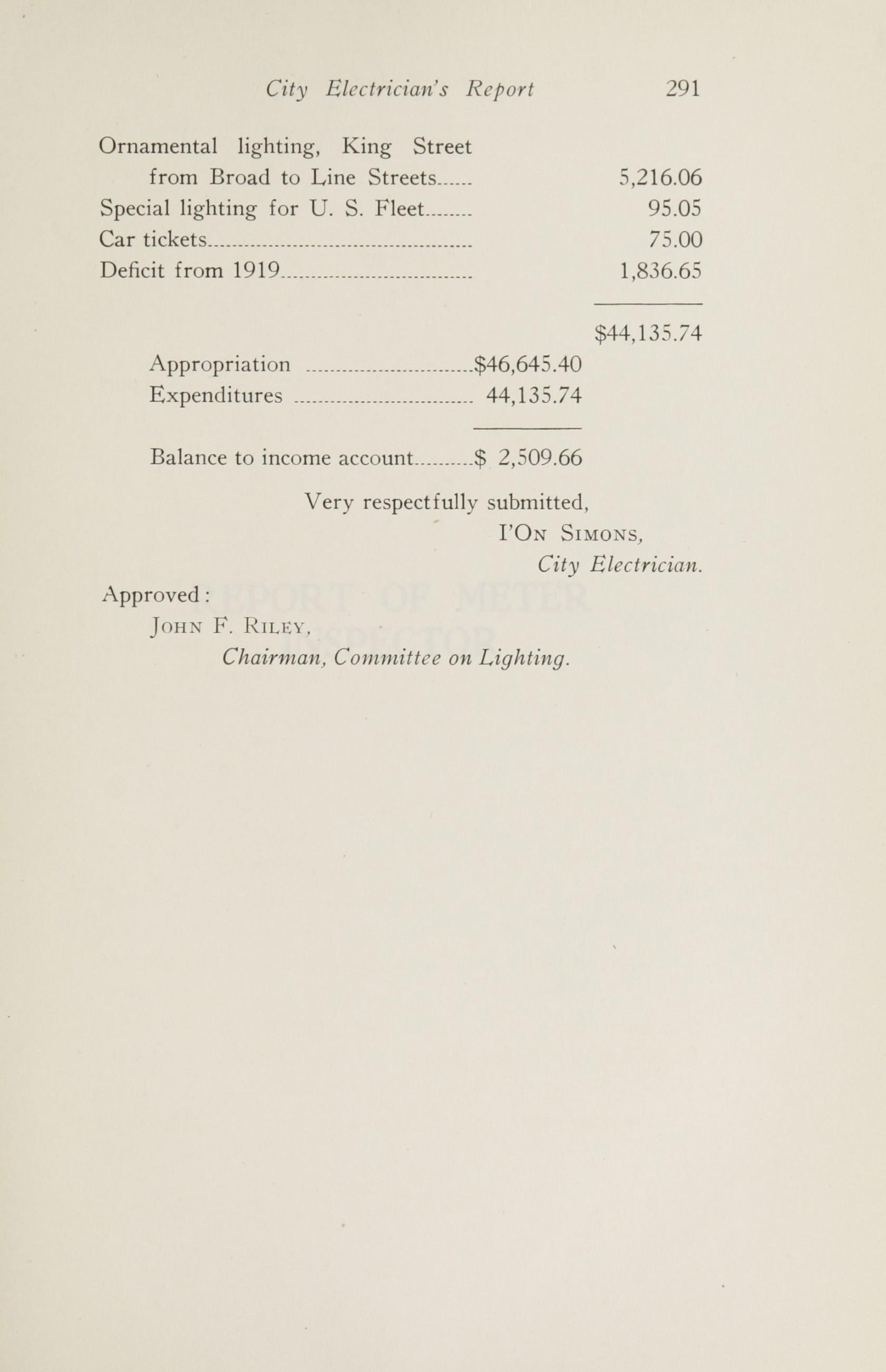 Charleston Yearbook, 1920, page 291