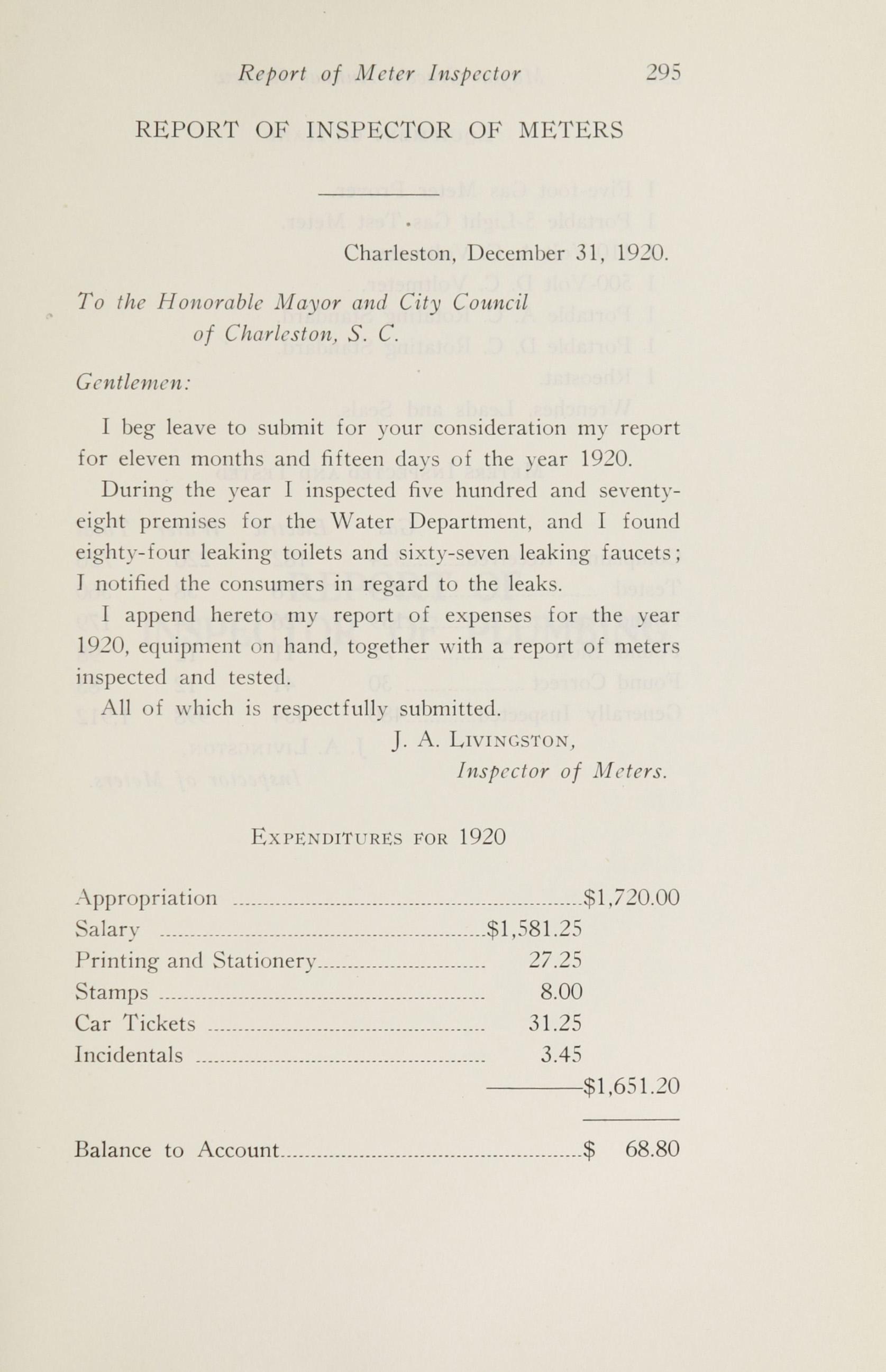 Charleston Yearbook, 1920, page 295