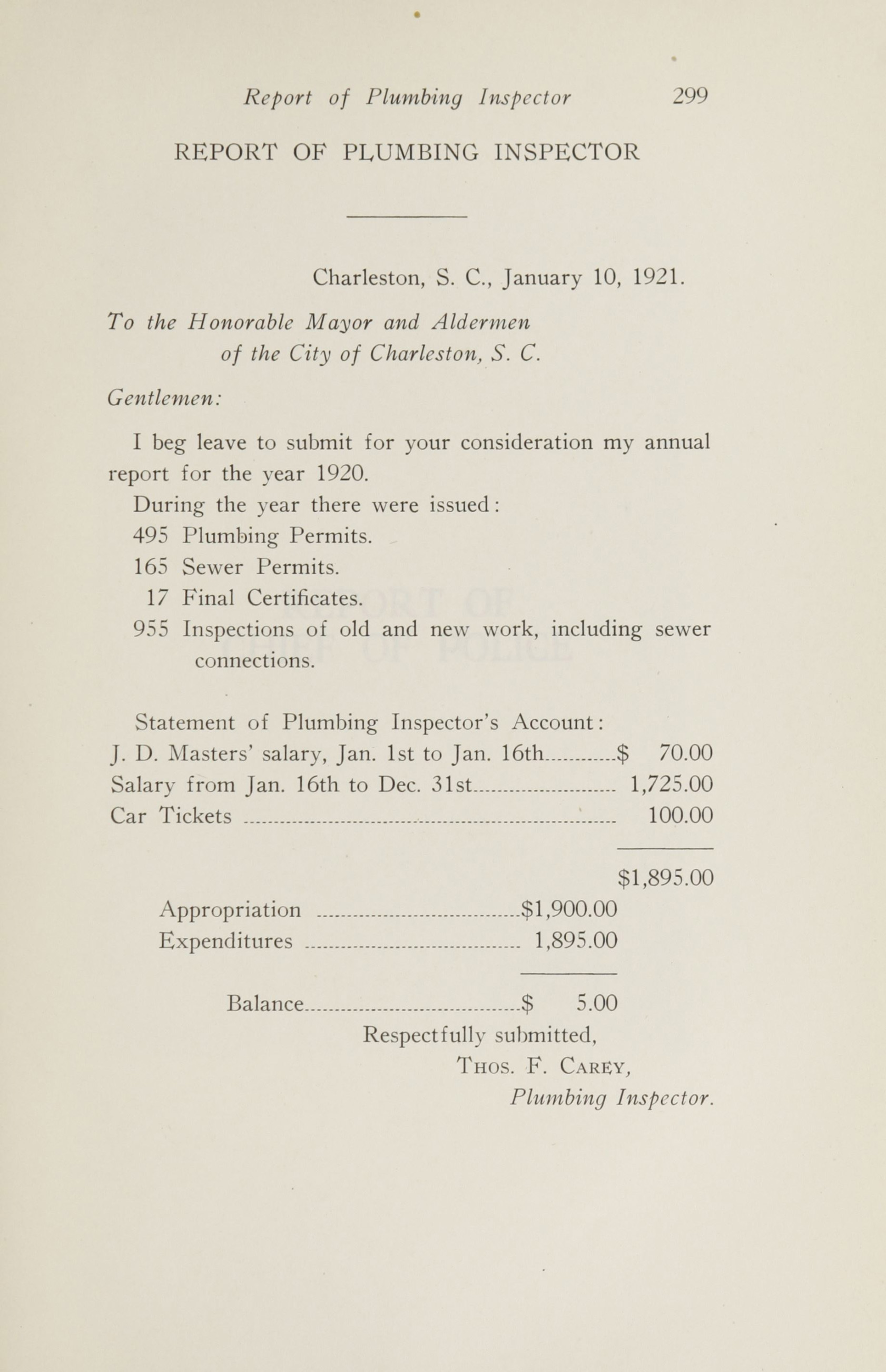 Charleston Yearbook, 1920, page 299