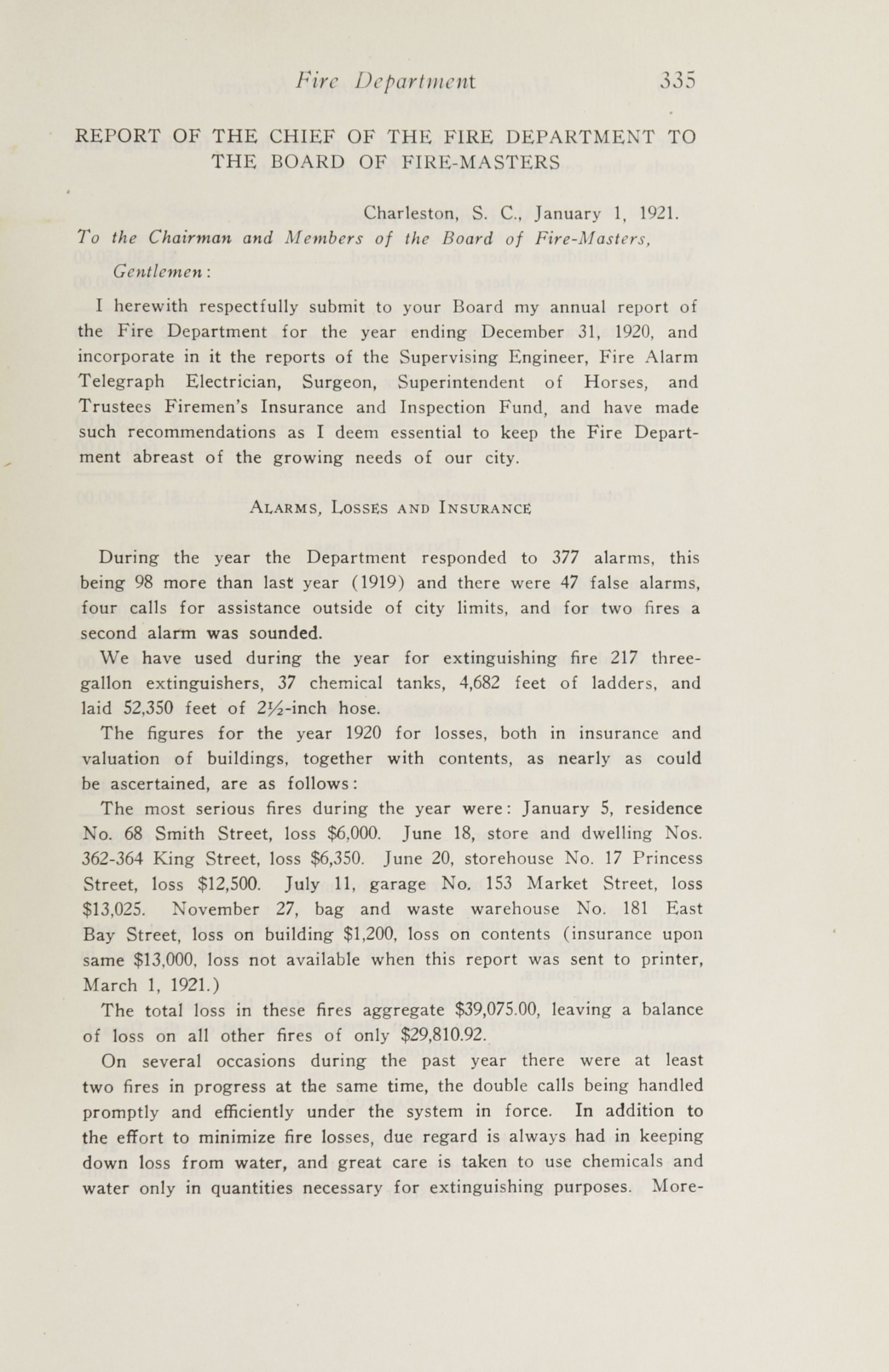 Charleston Yearbook, 1920, page 335