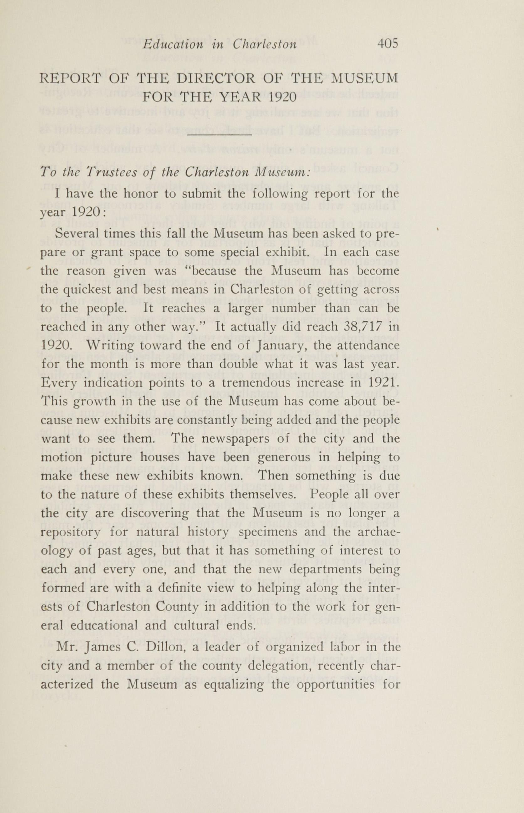 Charleston Yearbook, 1920, page 405