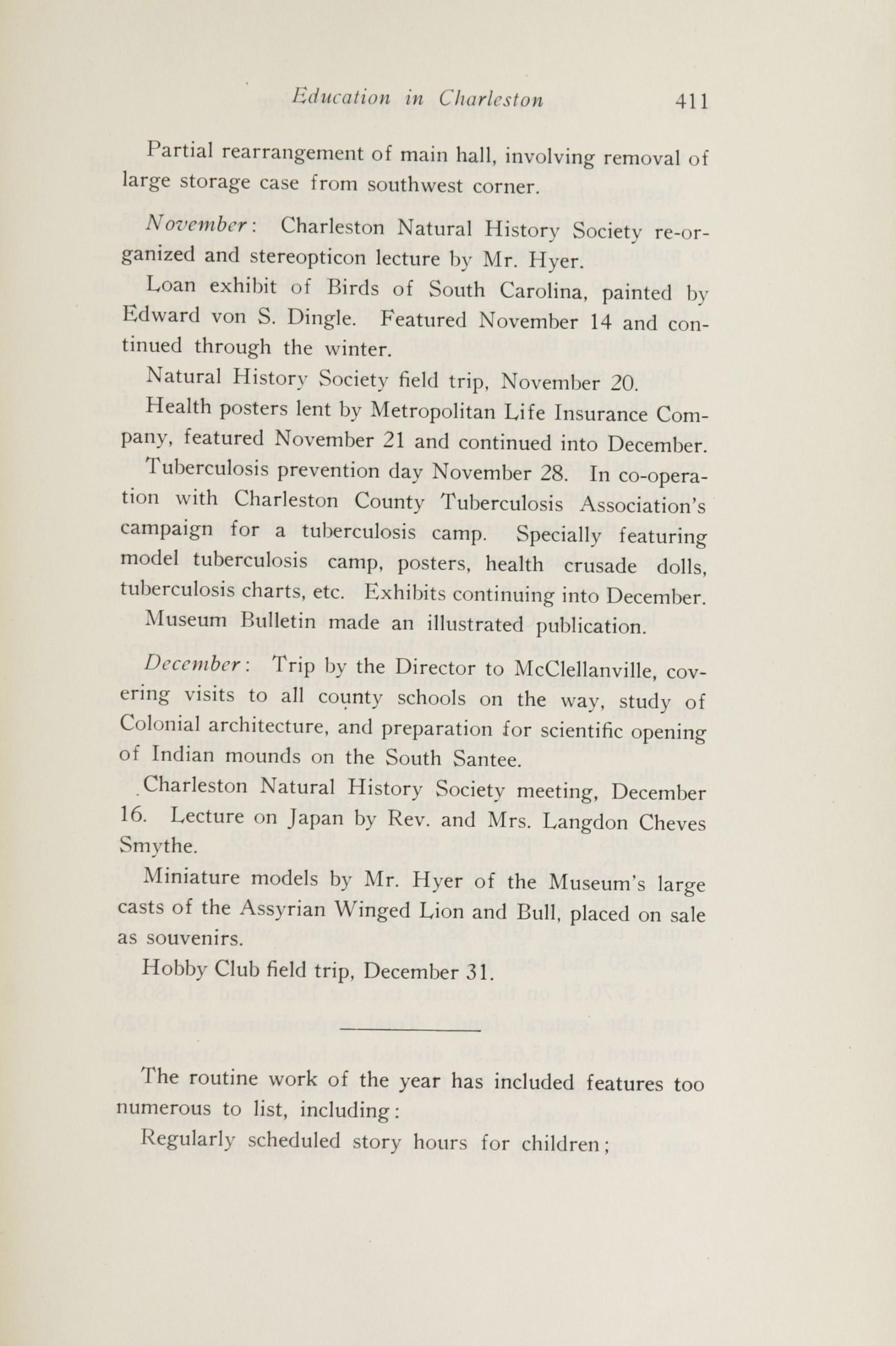 Charleston Yearbook, 1920, page 411