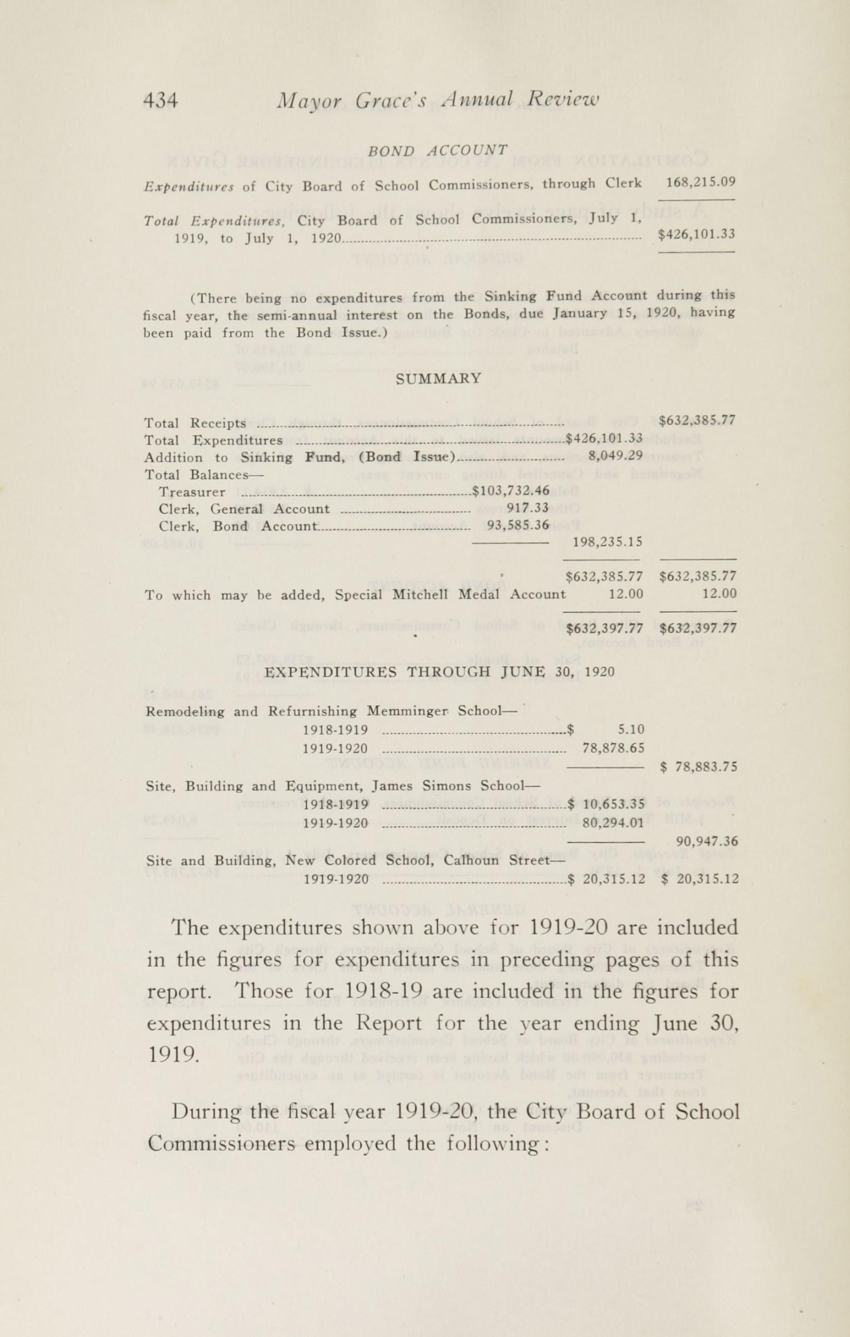 Charleston Yearbook, 1920, page 434