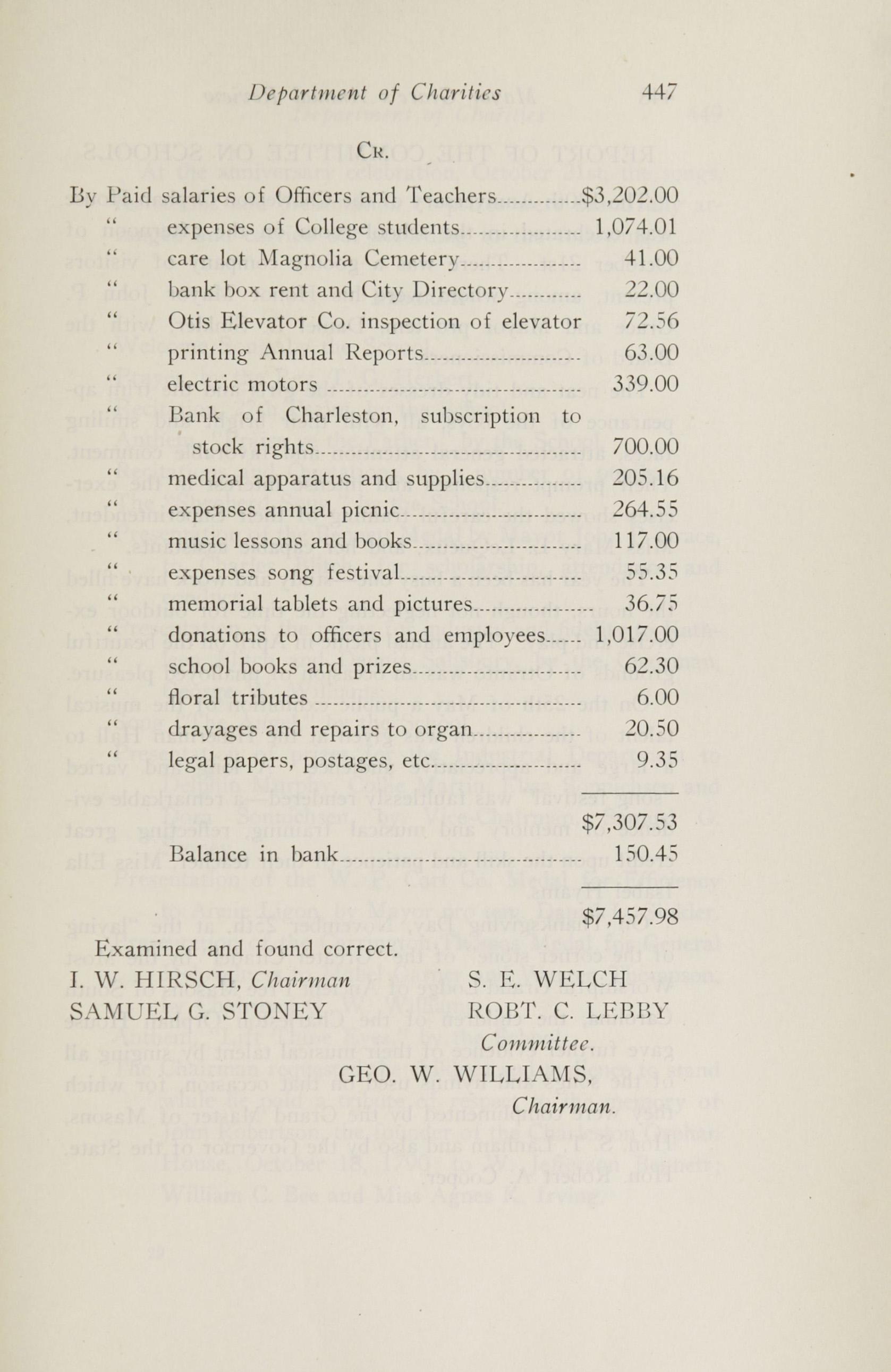 Charleston Yearbook, 1920, page 447