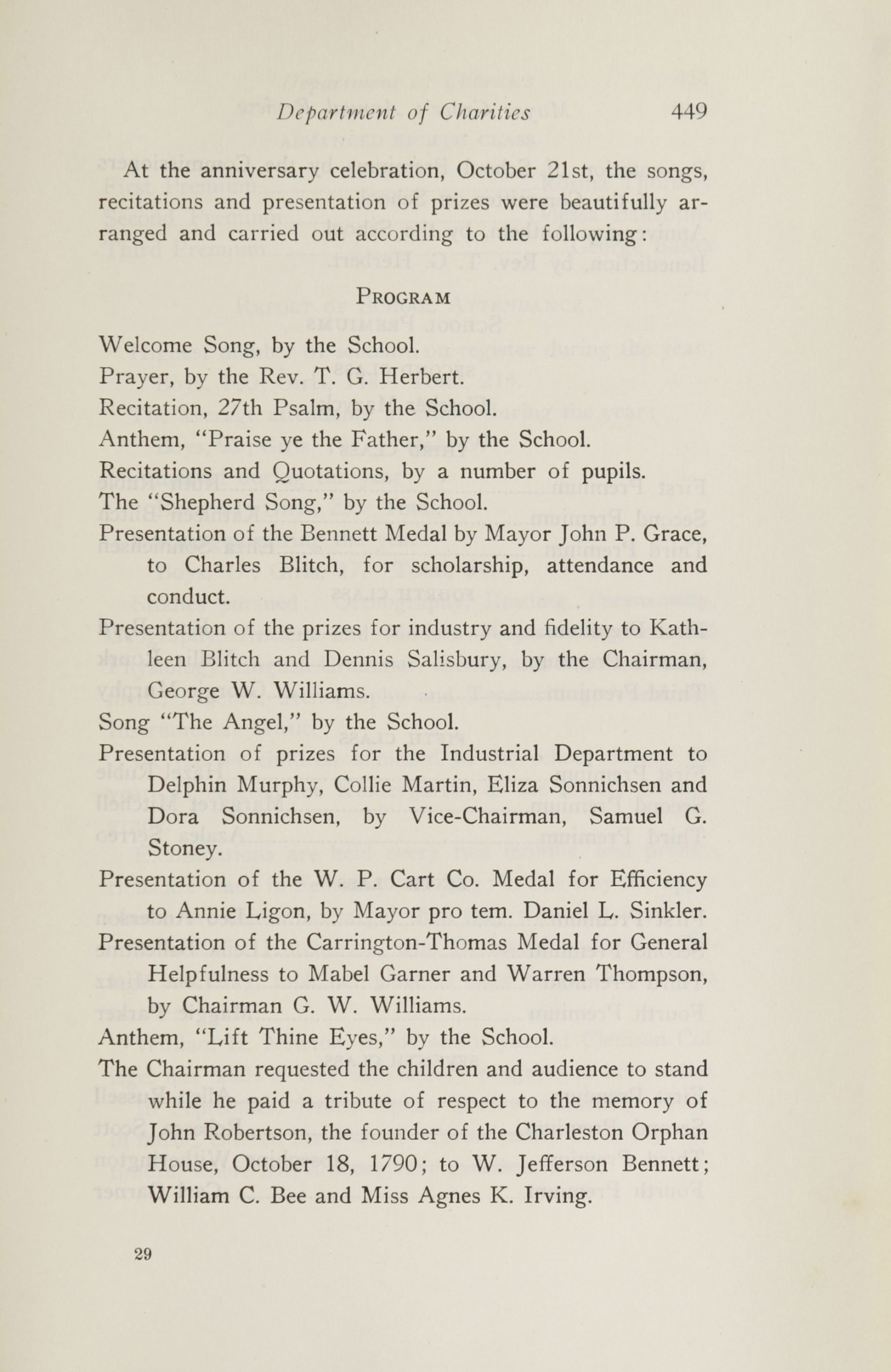 Charleston Yearbook, 1920, page 449