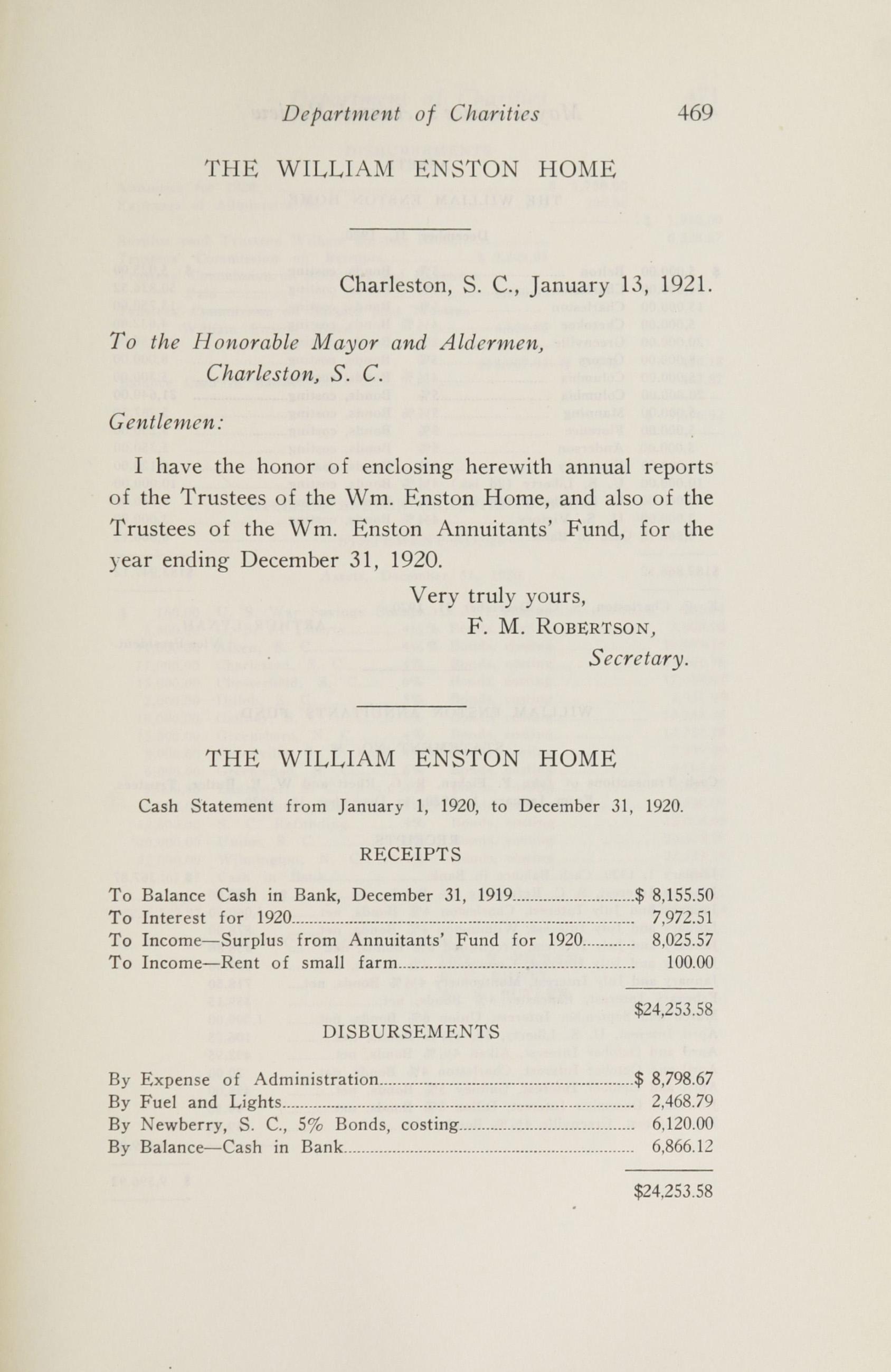 Charleston Yearbook, 1920, page 469
