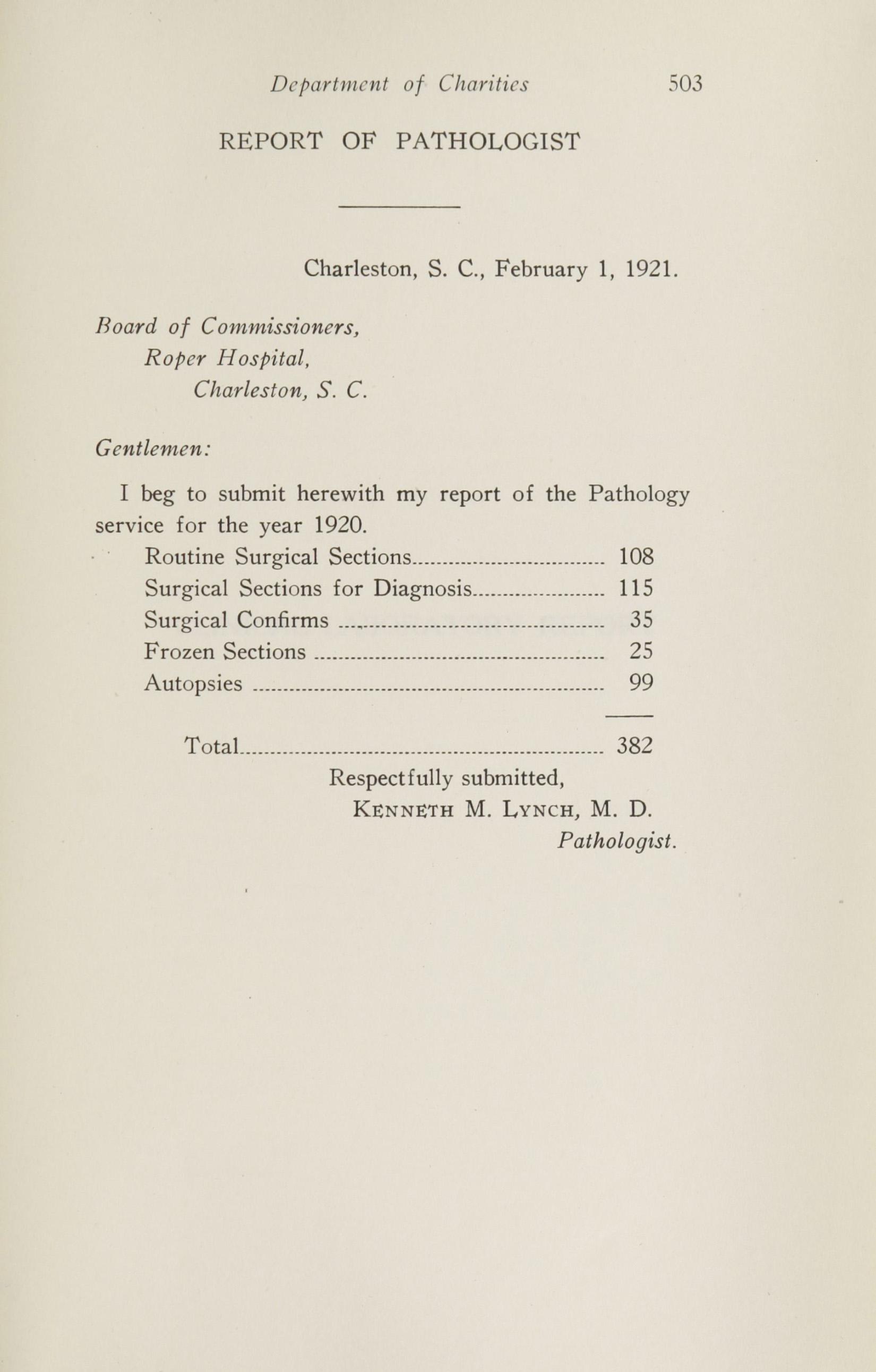 Charleston Yearbook, 1920, page 503