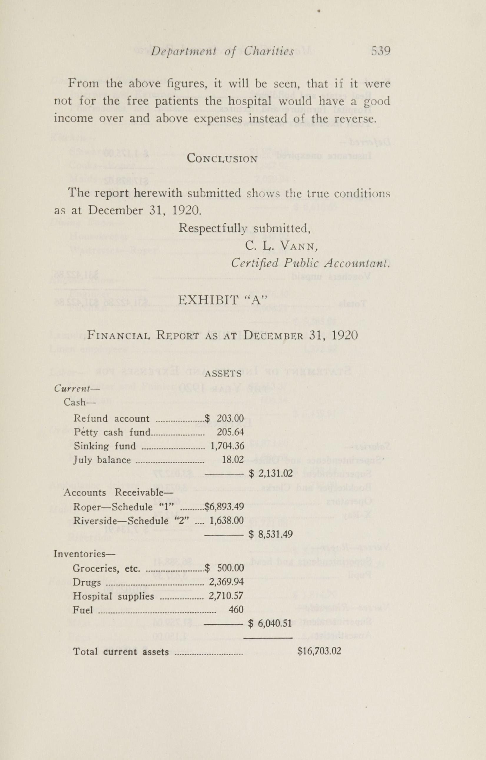 Charleston Yearbook, 1920, page 539
