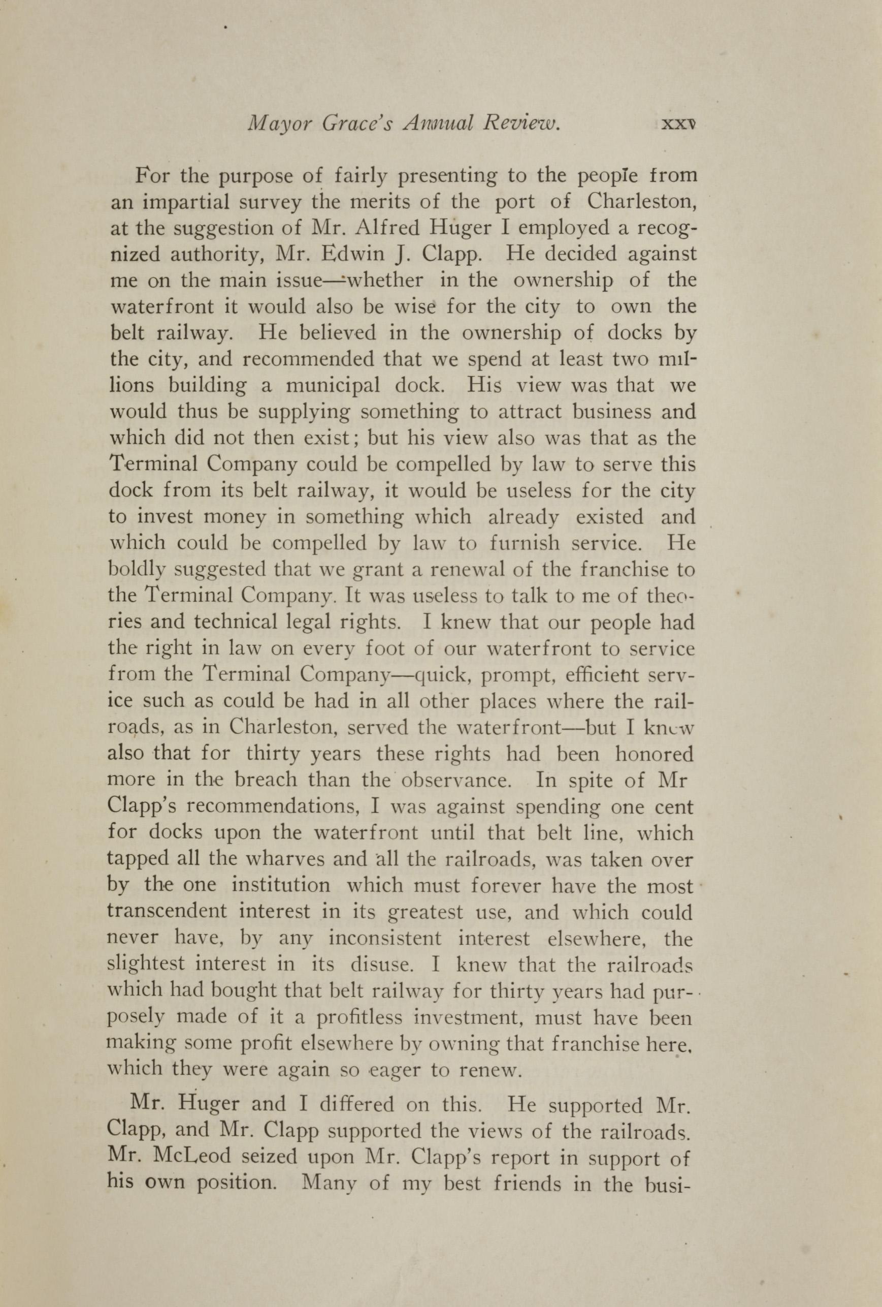 Charleston Yearbook, 1921, page xxv
