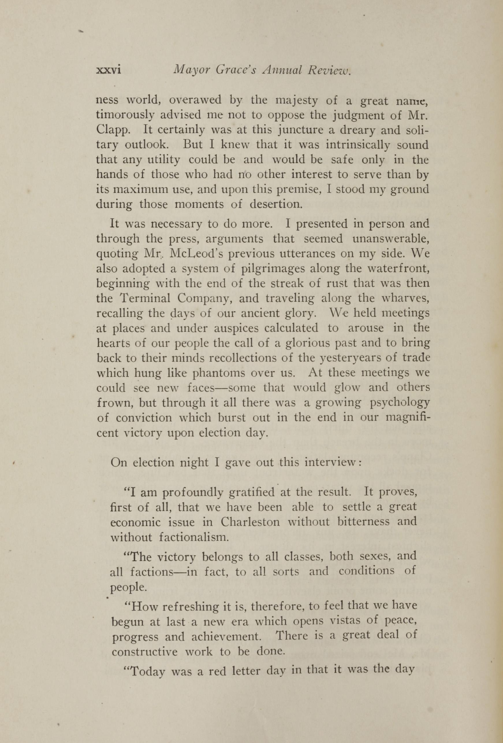 Charleston Yearbook, 1921, page xxvi