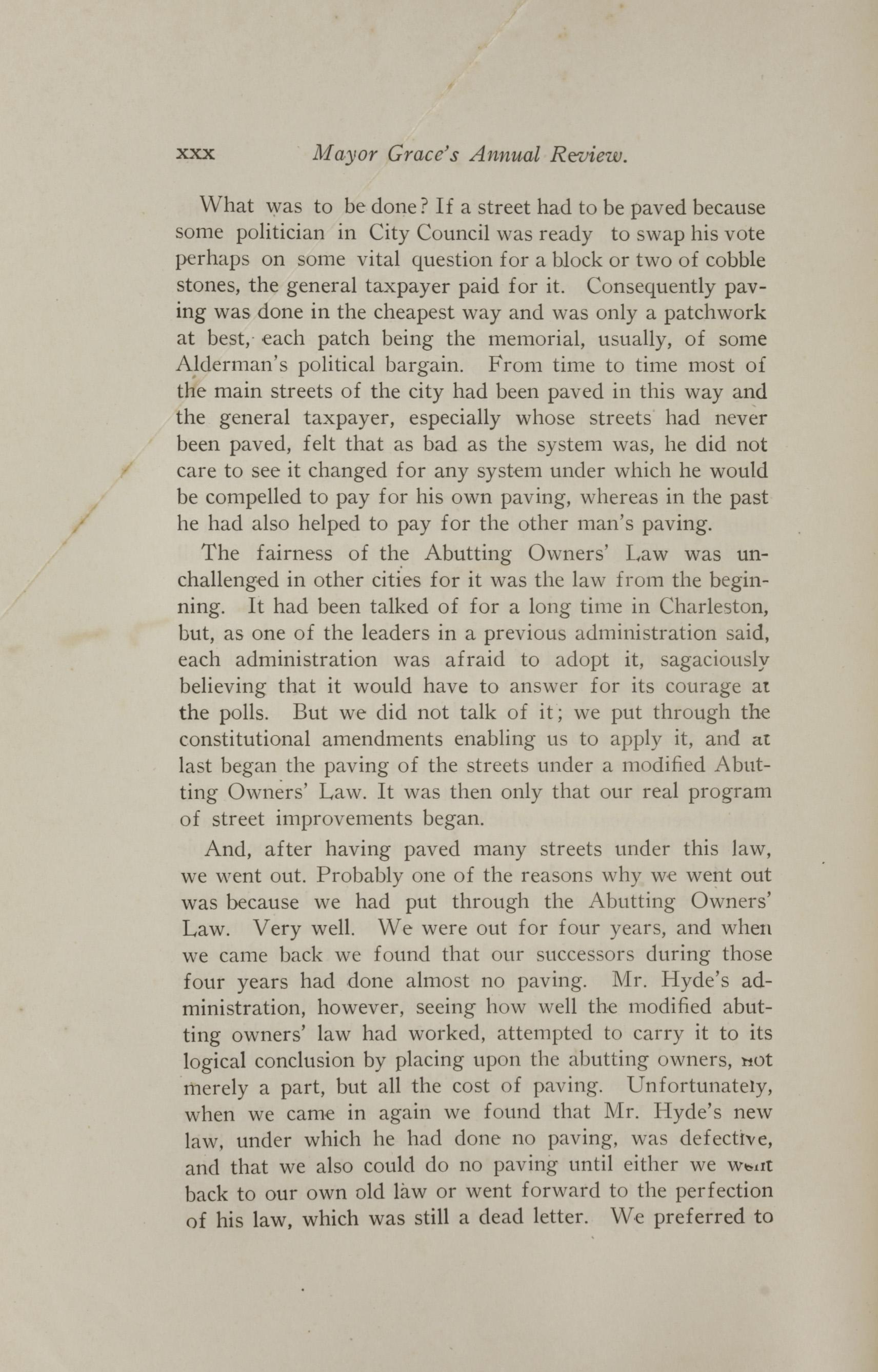 Charleston Yearbook, 1921, page xxx