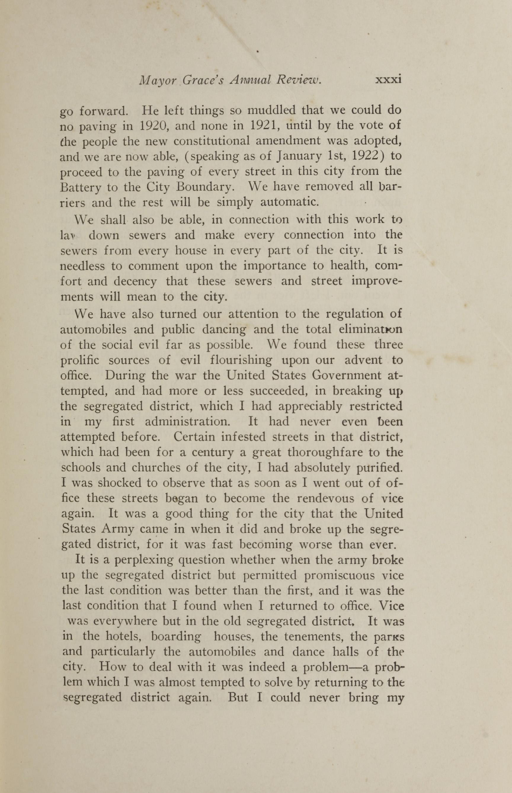 Charleston Yearbook, 1921, page xxxi