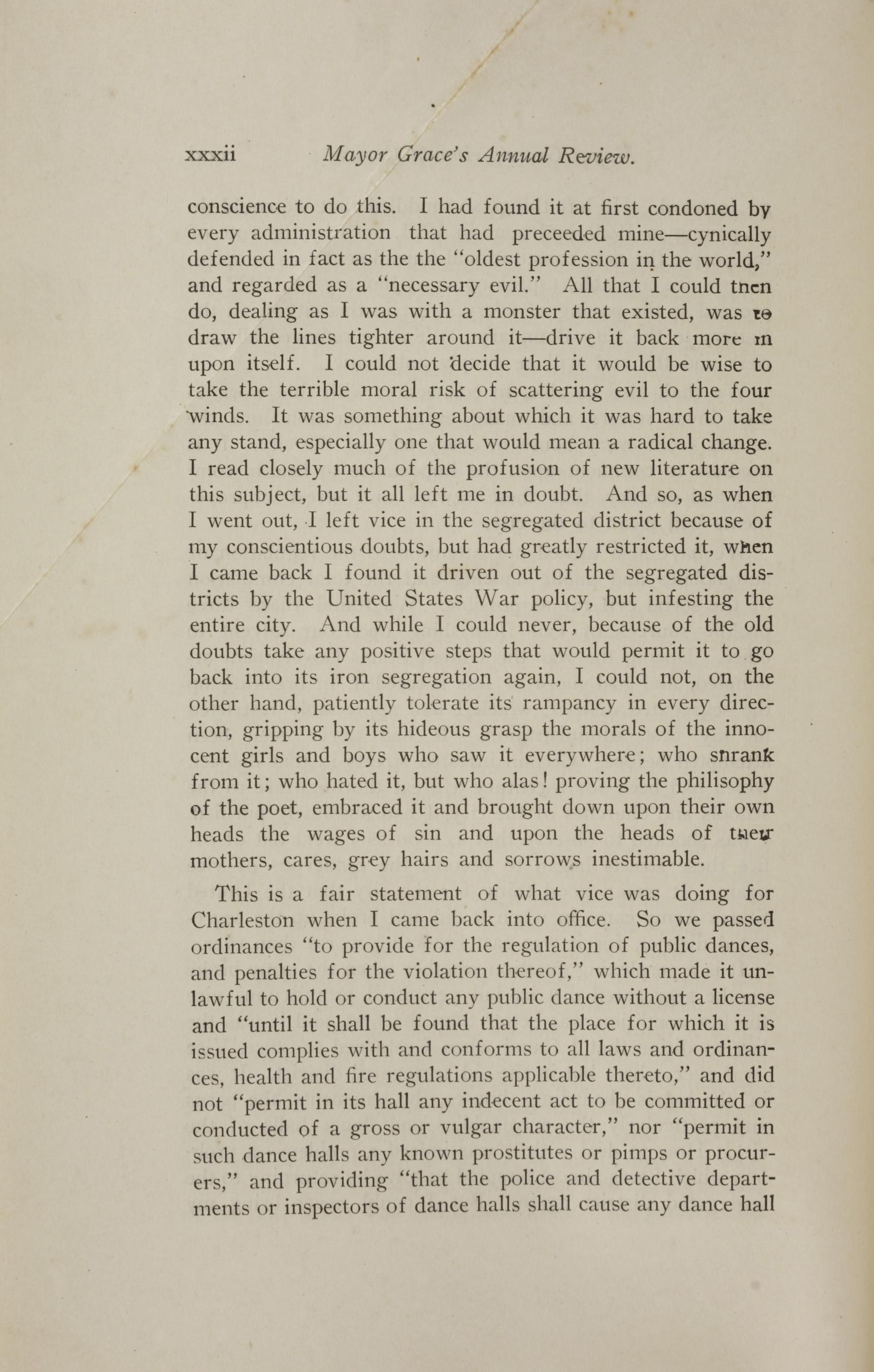Charleston Yearbook, 1921, page xxxii