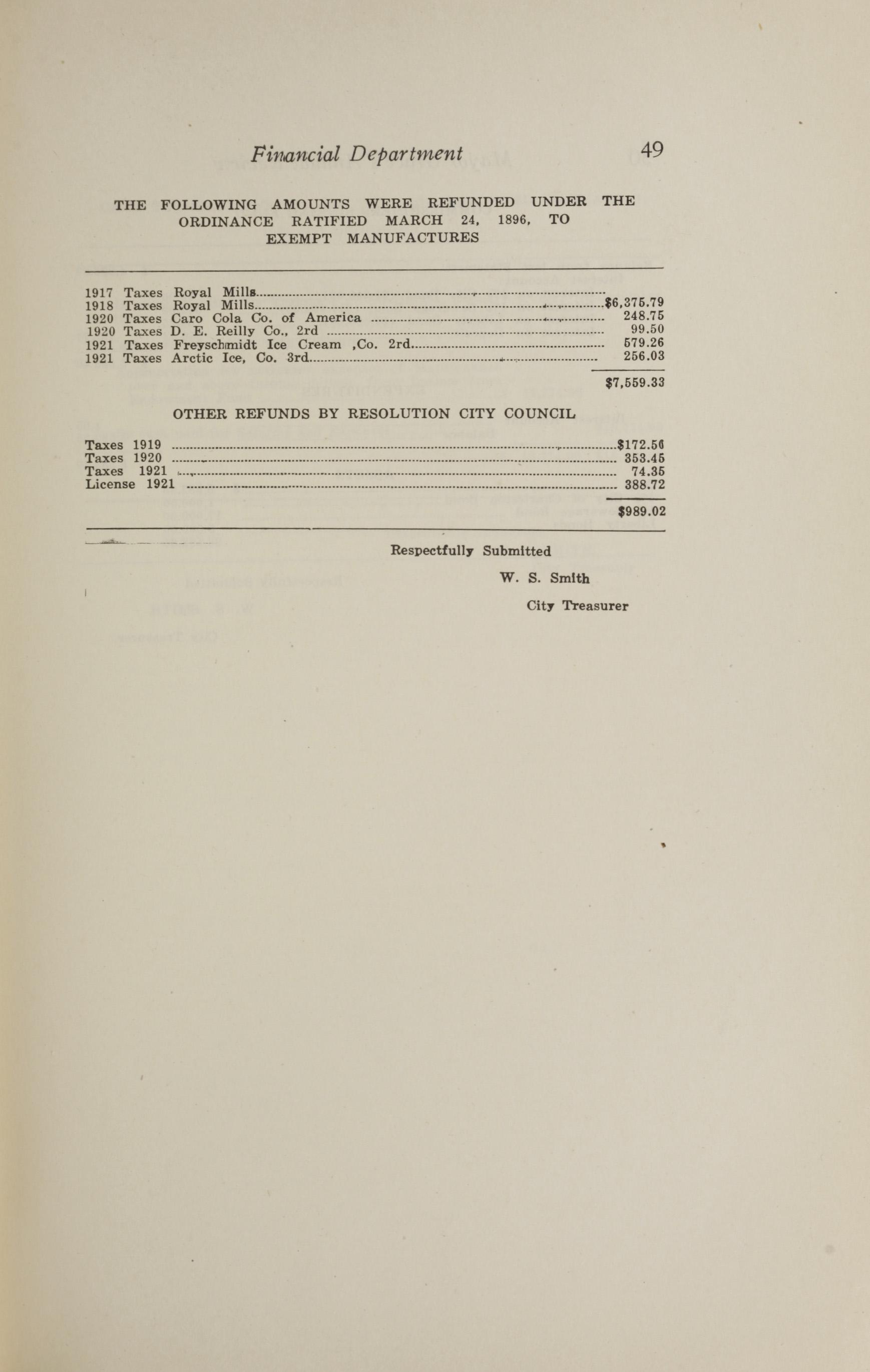Charleston Yearbook, 1921, page 49