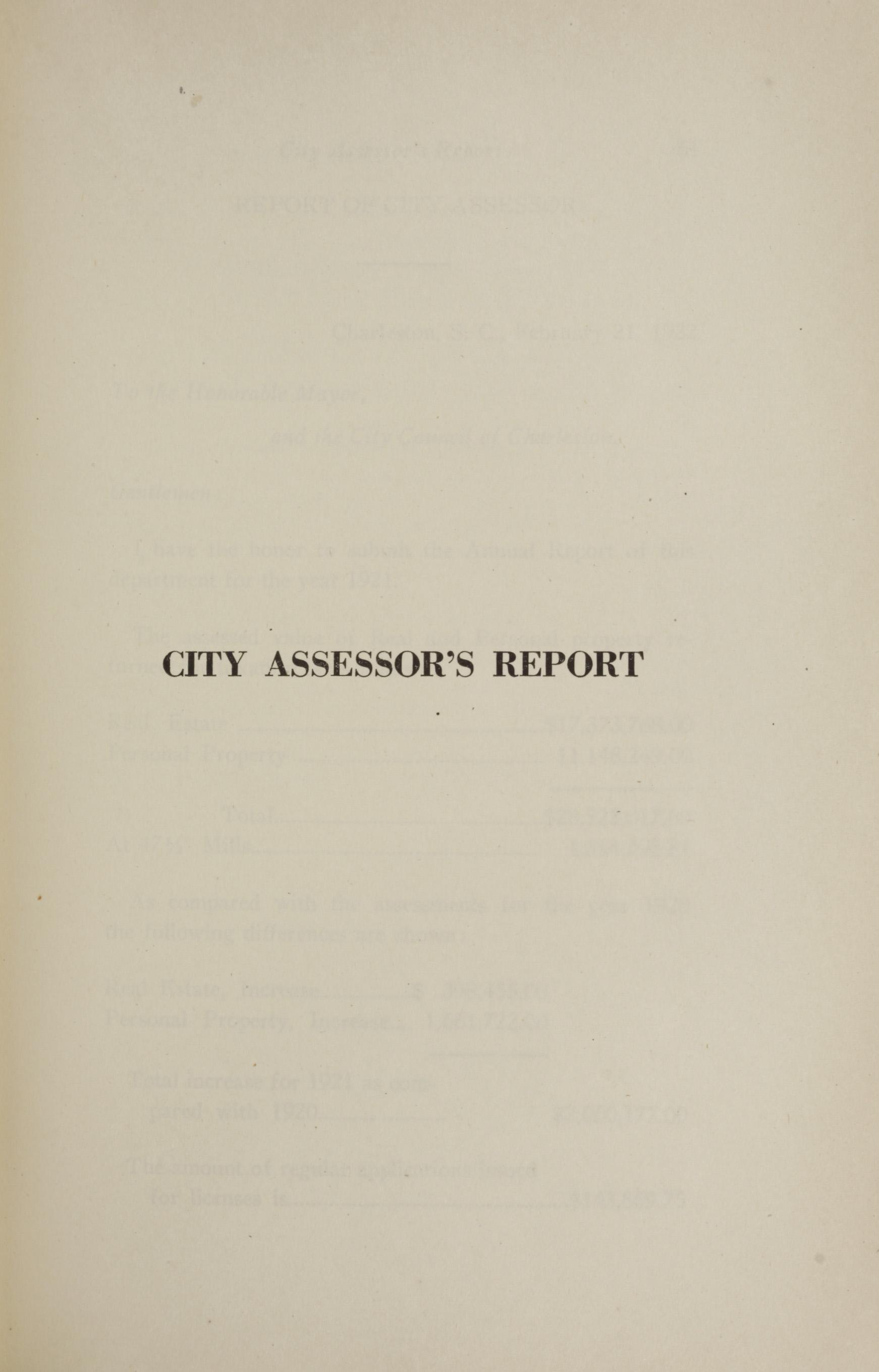 Charleston Yearbook, 1921, page 59