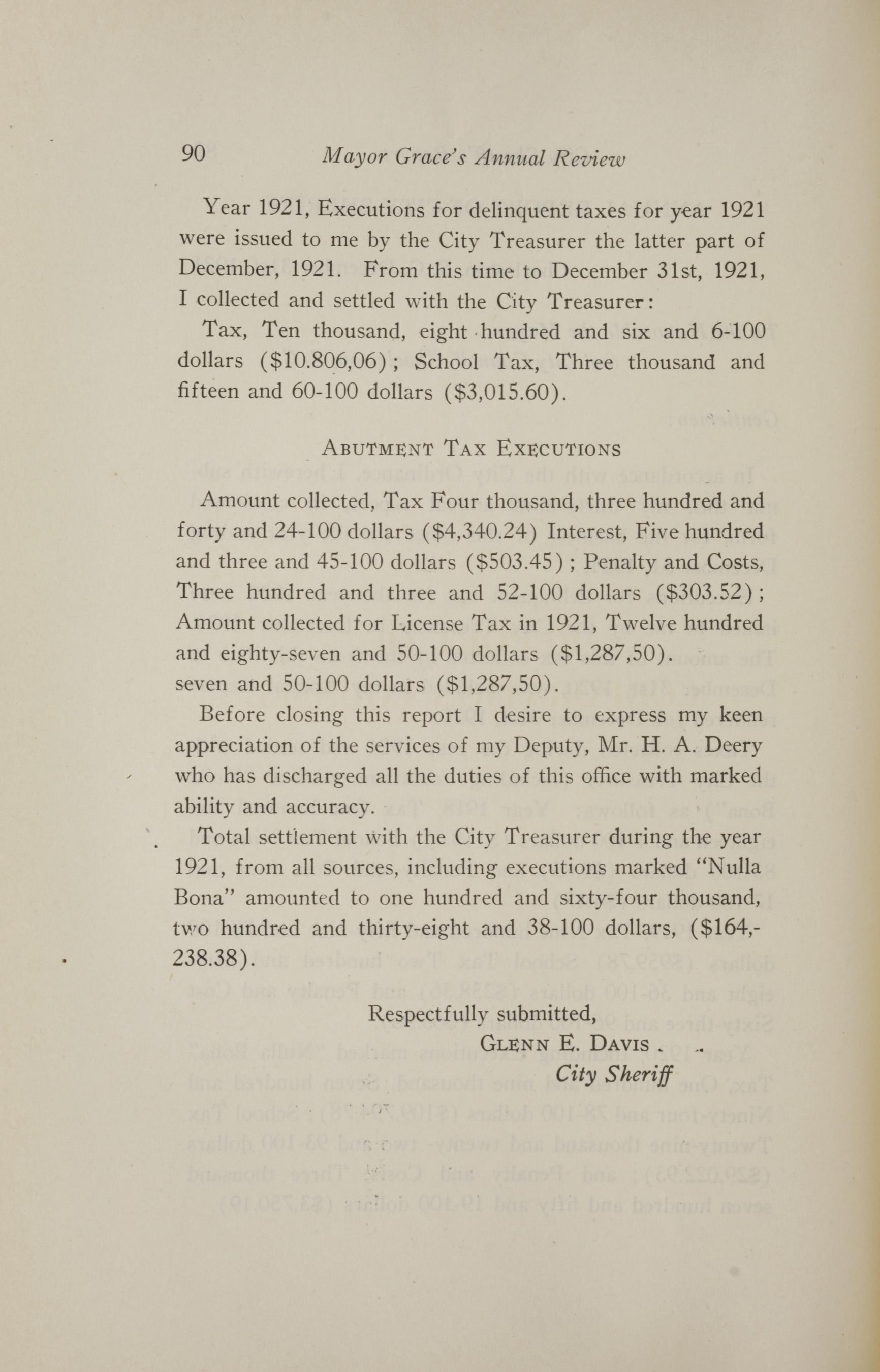Charleston Yearbook, 1921, page 90