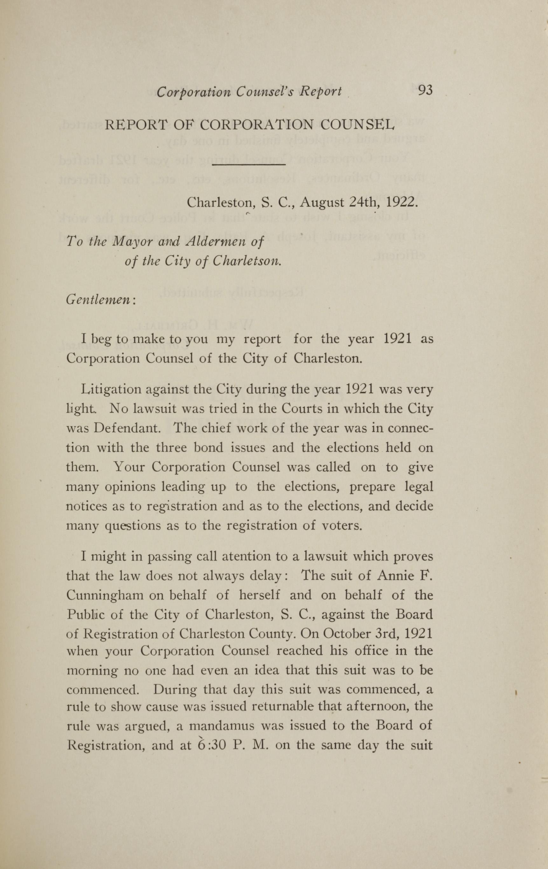 Charleston Yearbook, 1921, page 93