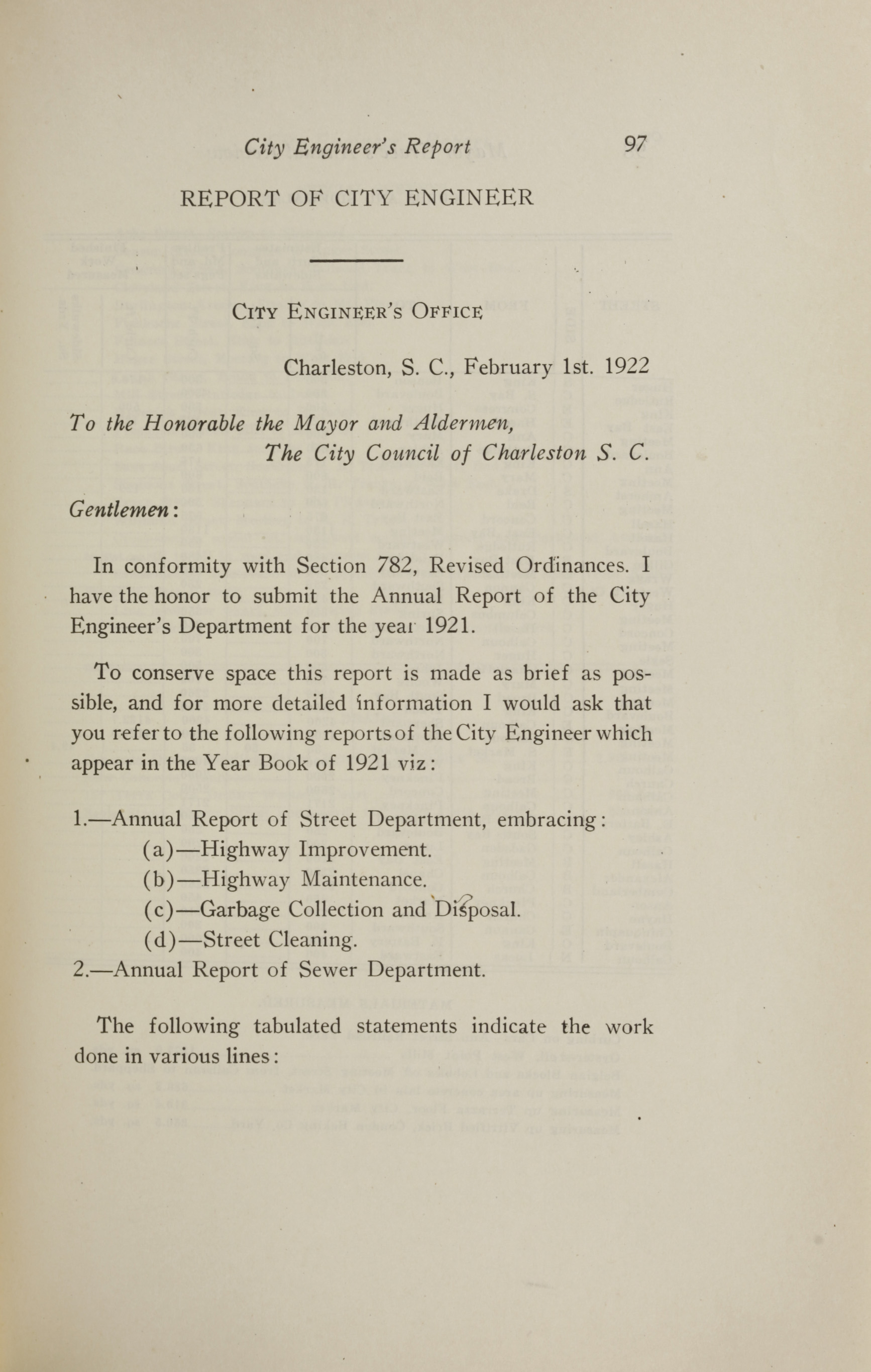 Charleston Yearbook, 1921, page 97