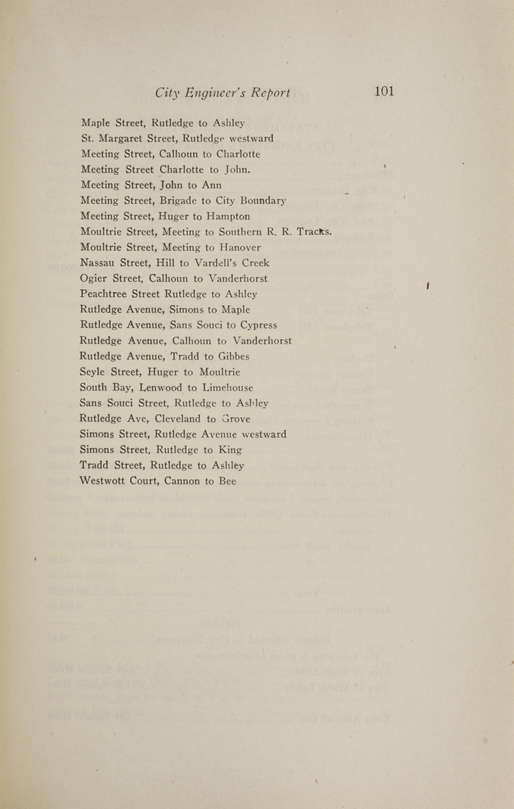 Charleston Yearbook, 1921, page 101