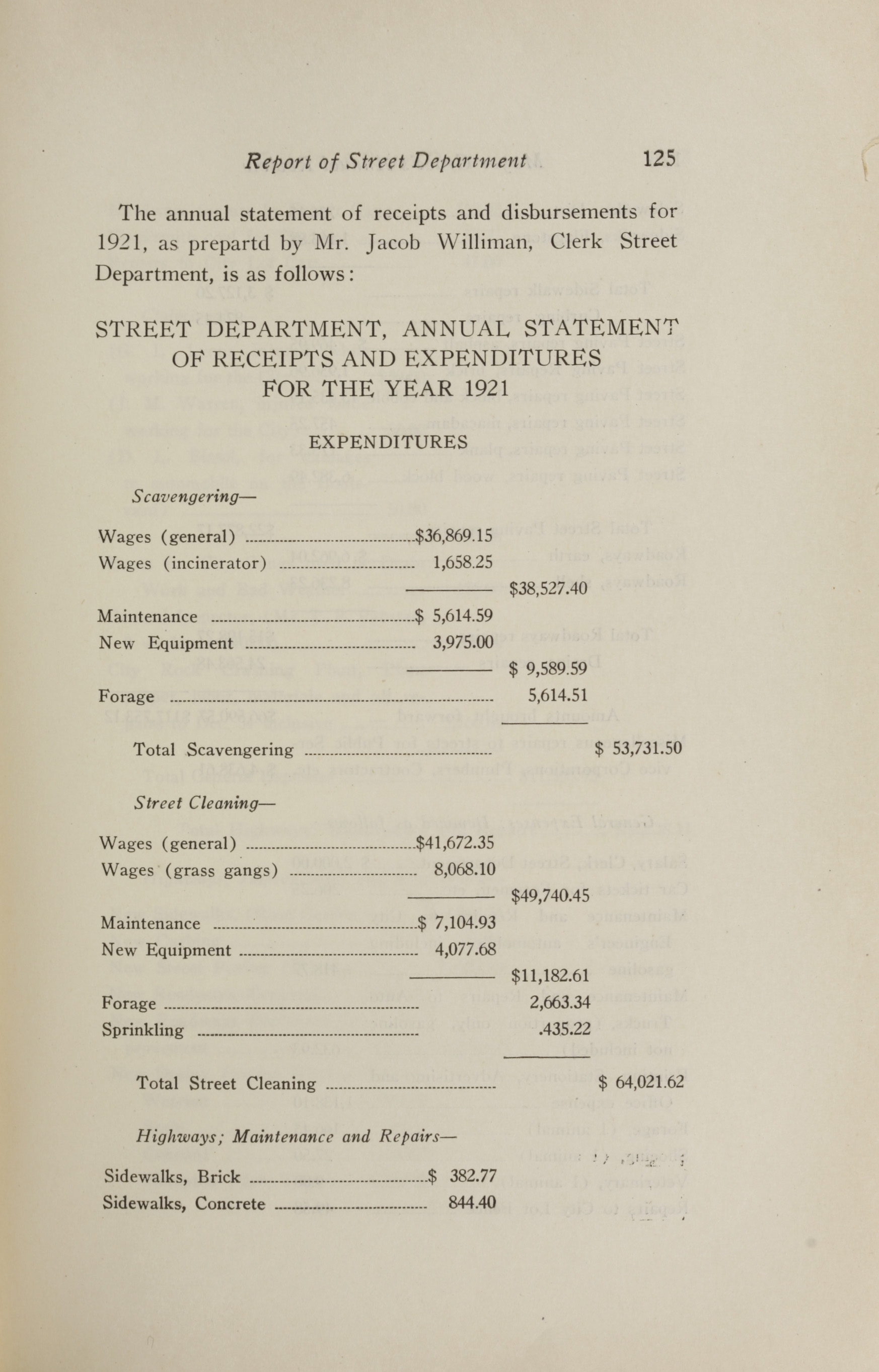 Charleston Yearbook, 1921, page 125