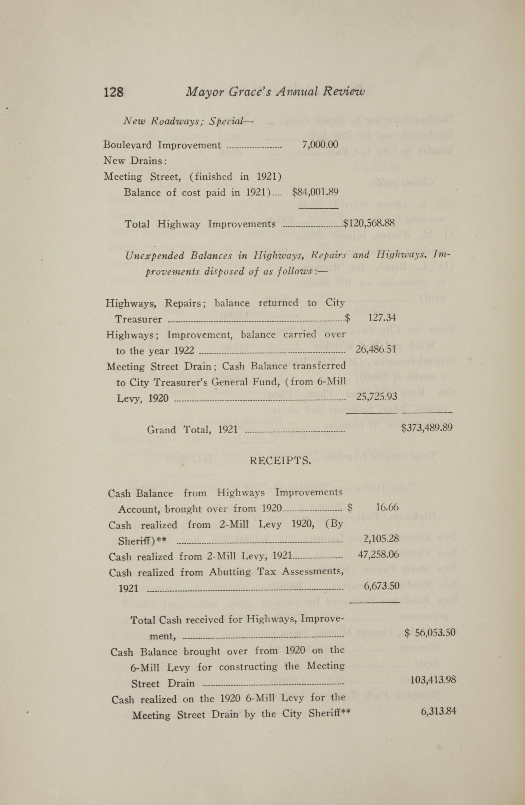 Charleston Yearbook, 1921, page 128