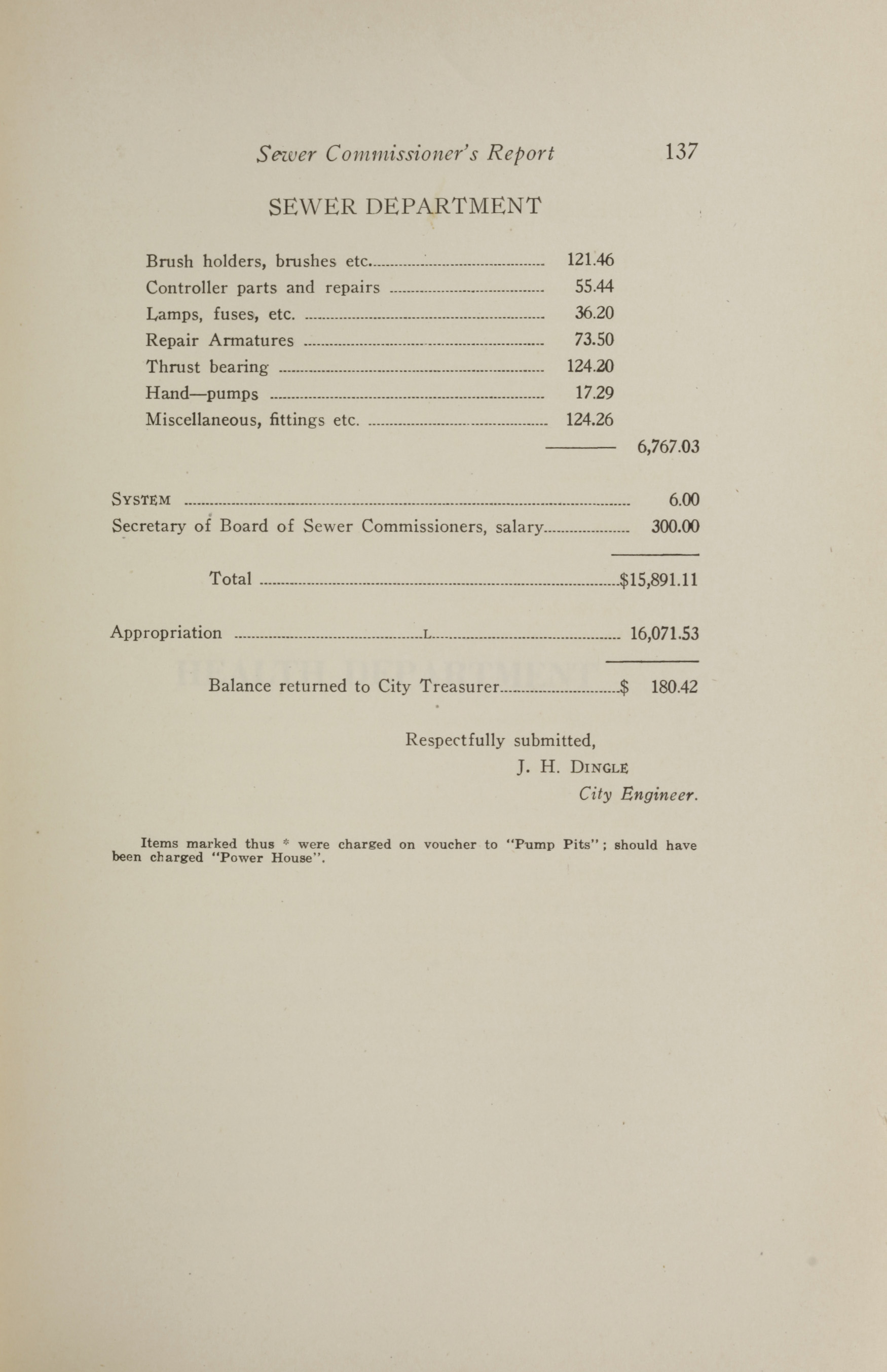 Charleston Yearbook, 1921, page 137
