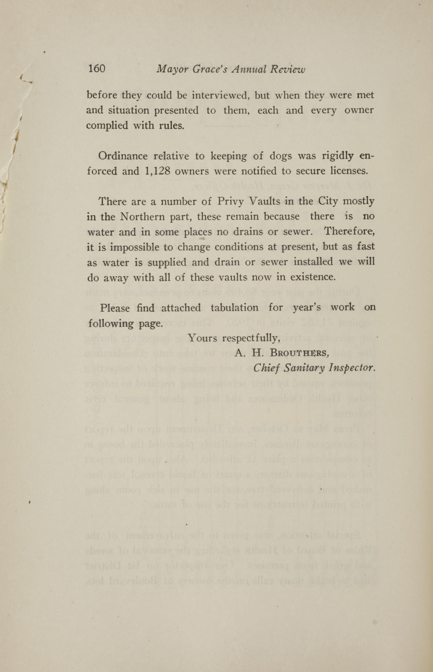 Charleston Yearbook, 1921, page 160