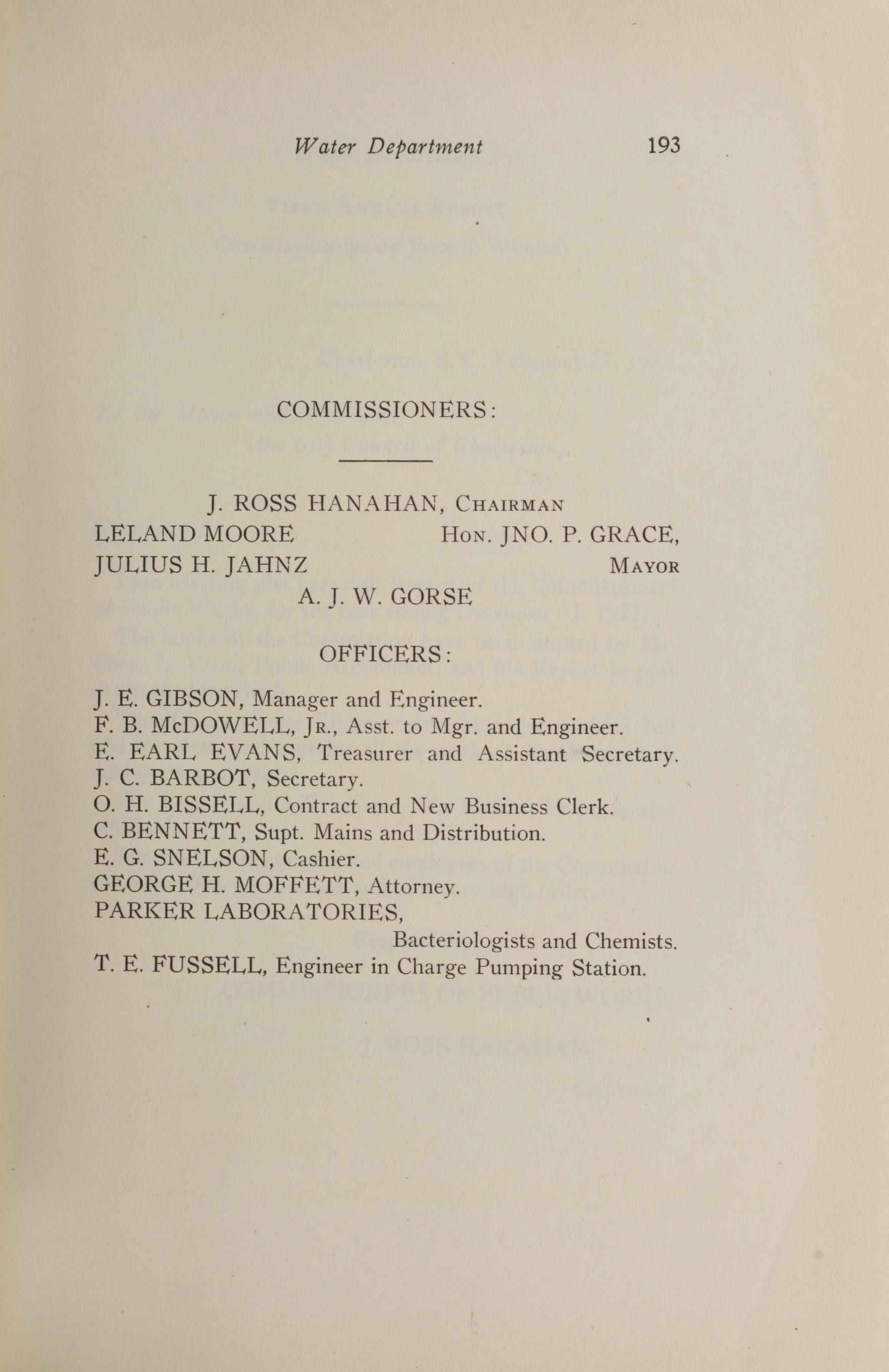 Charleston Yearbook, 1921, page 193