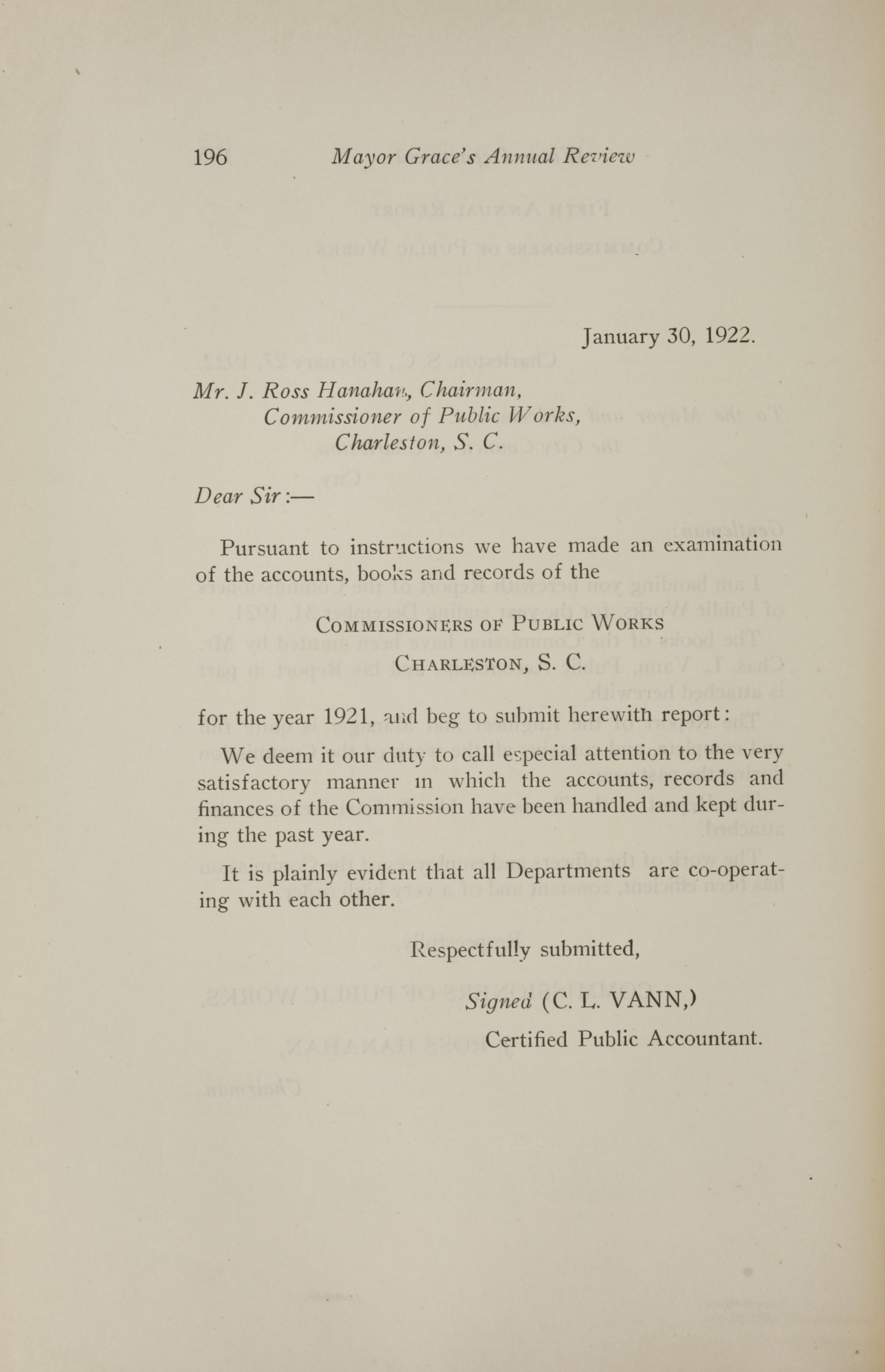 Charleston Yearbook, 1921, page 196