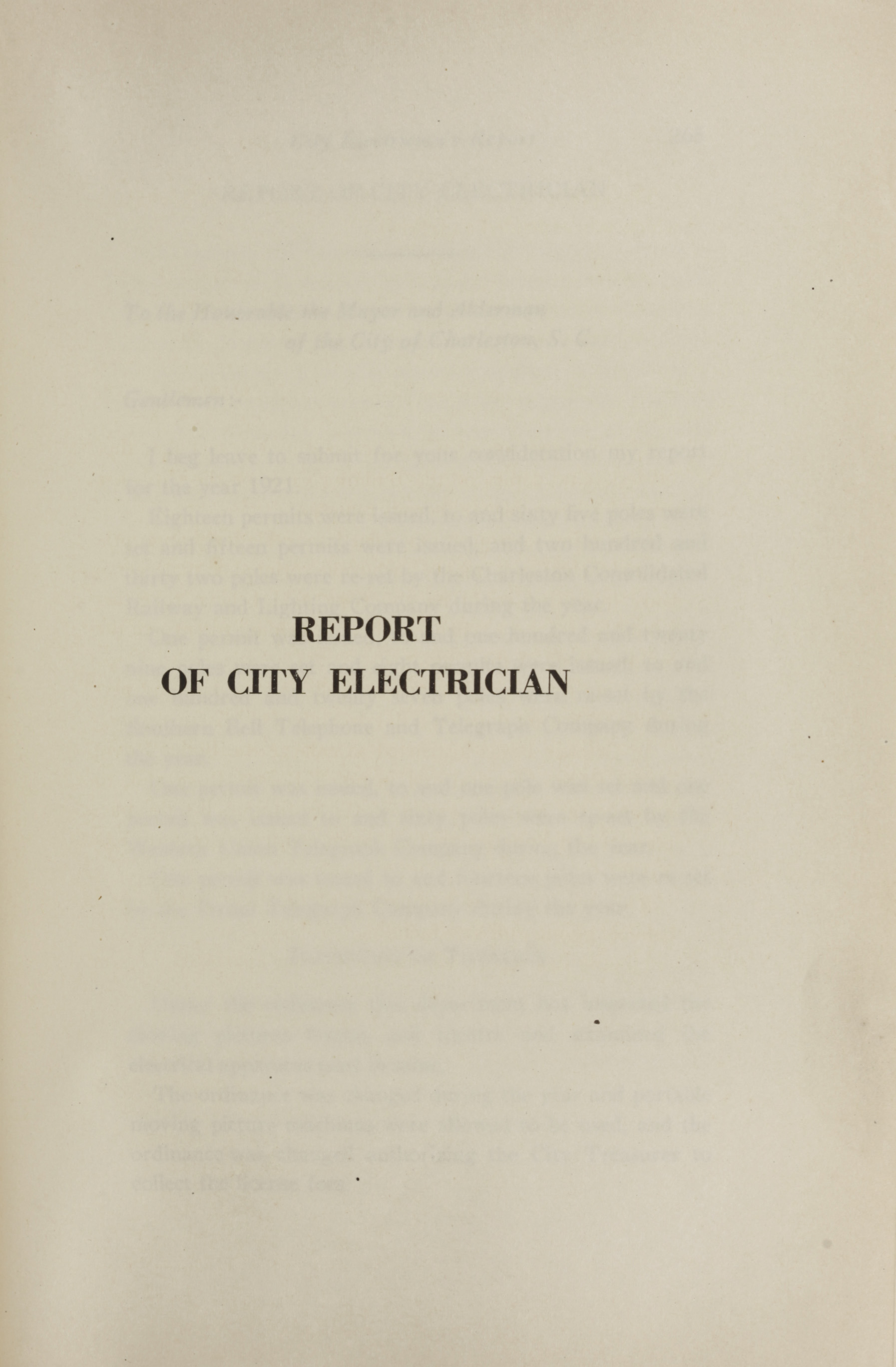 Charleston Yearbook, 1921, page 263