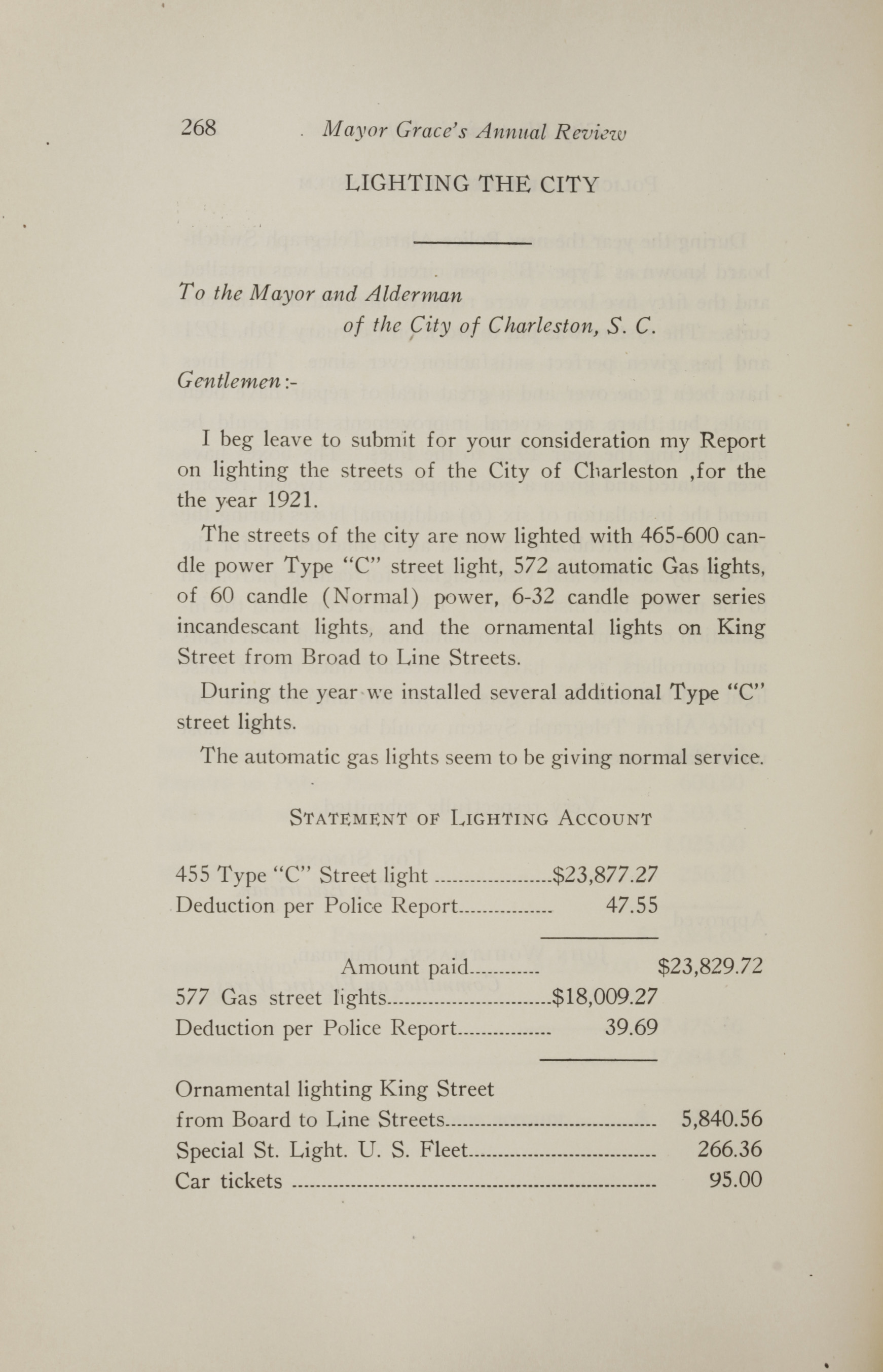 Charleston Yearbook, 1921, page 268