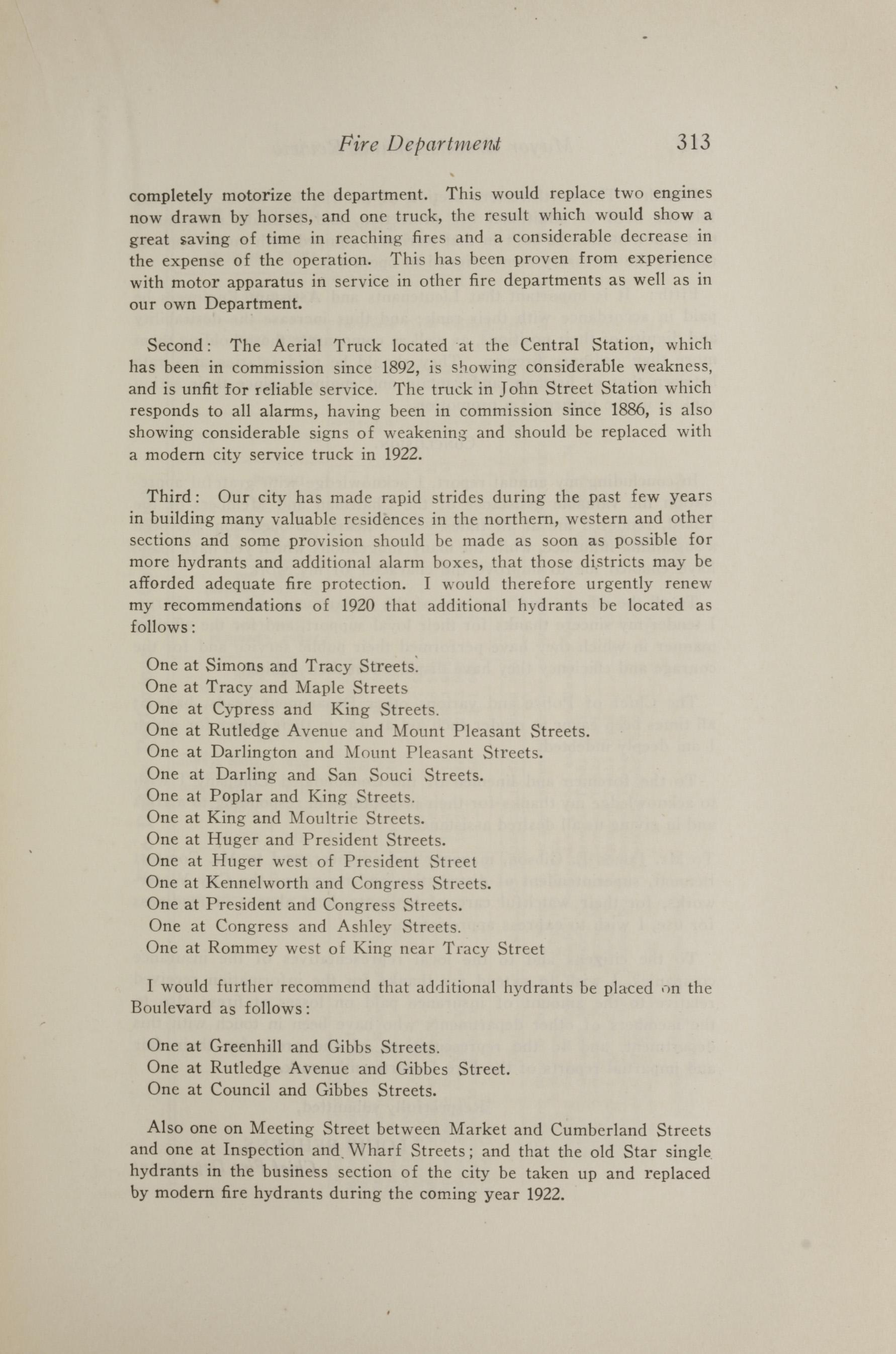 Charleston Yearbook, 1921, page 313