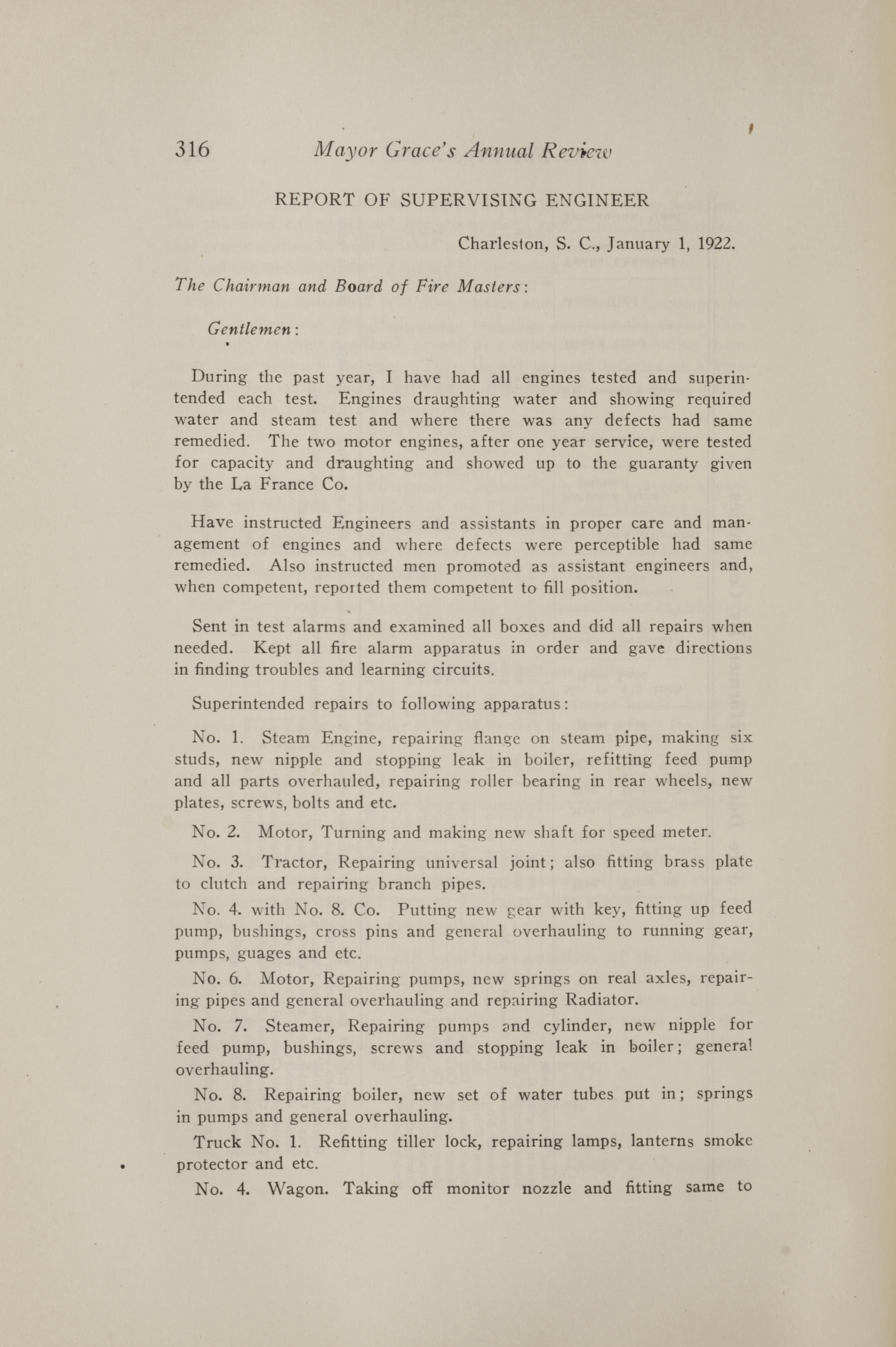 Charleston Yearbook, 1921, page 316