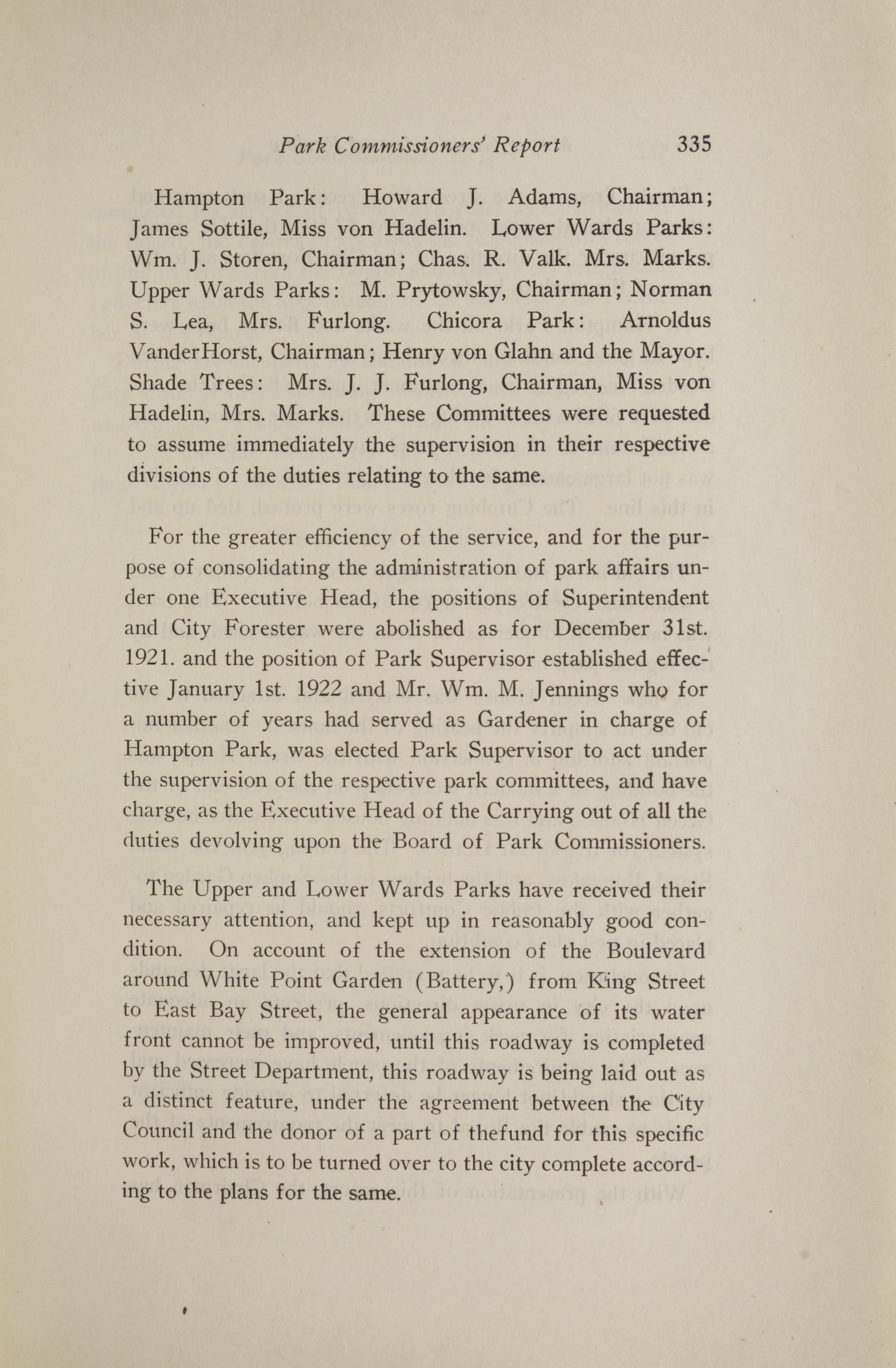 Charleston Yearbook, 1921, page 335