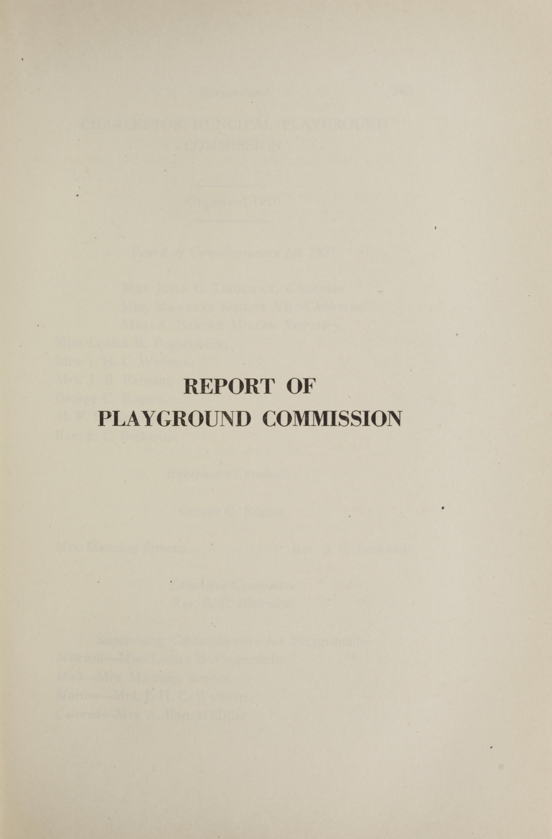 Charleston Yearbook, 1921, page 341