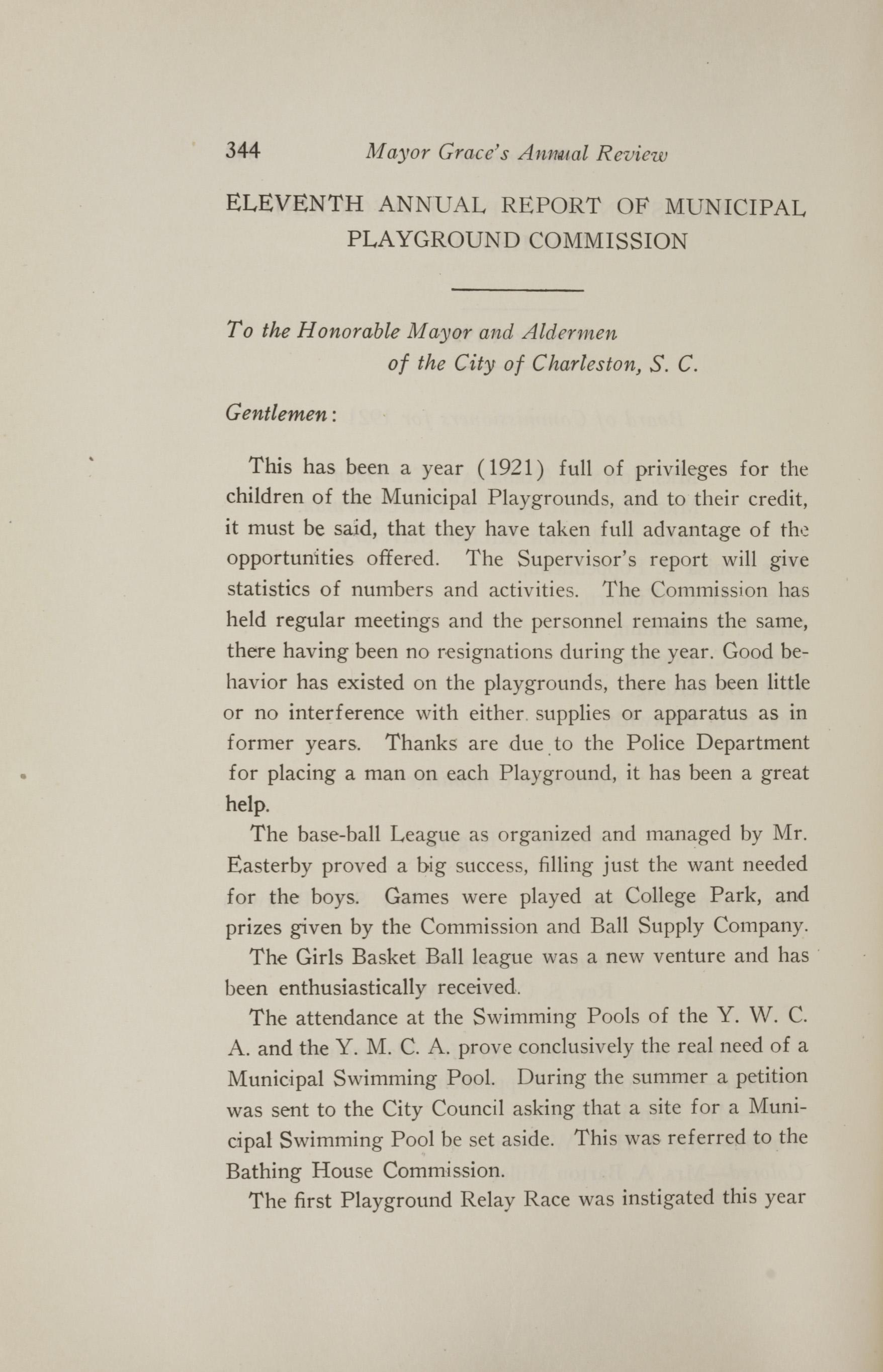 Charleston Yearbook, 1921, page 344