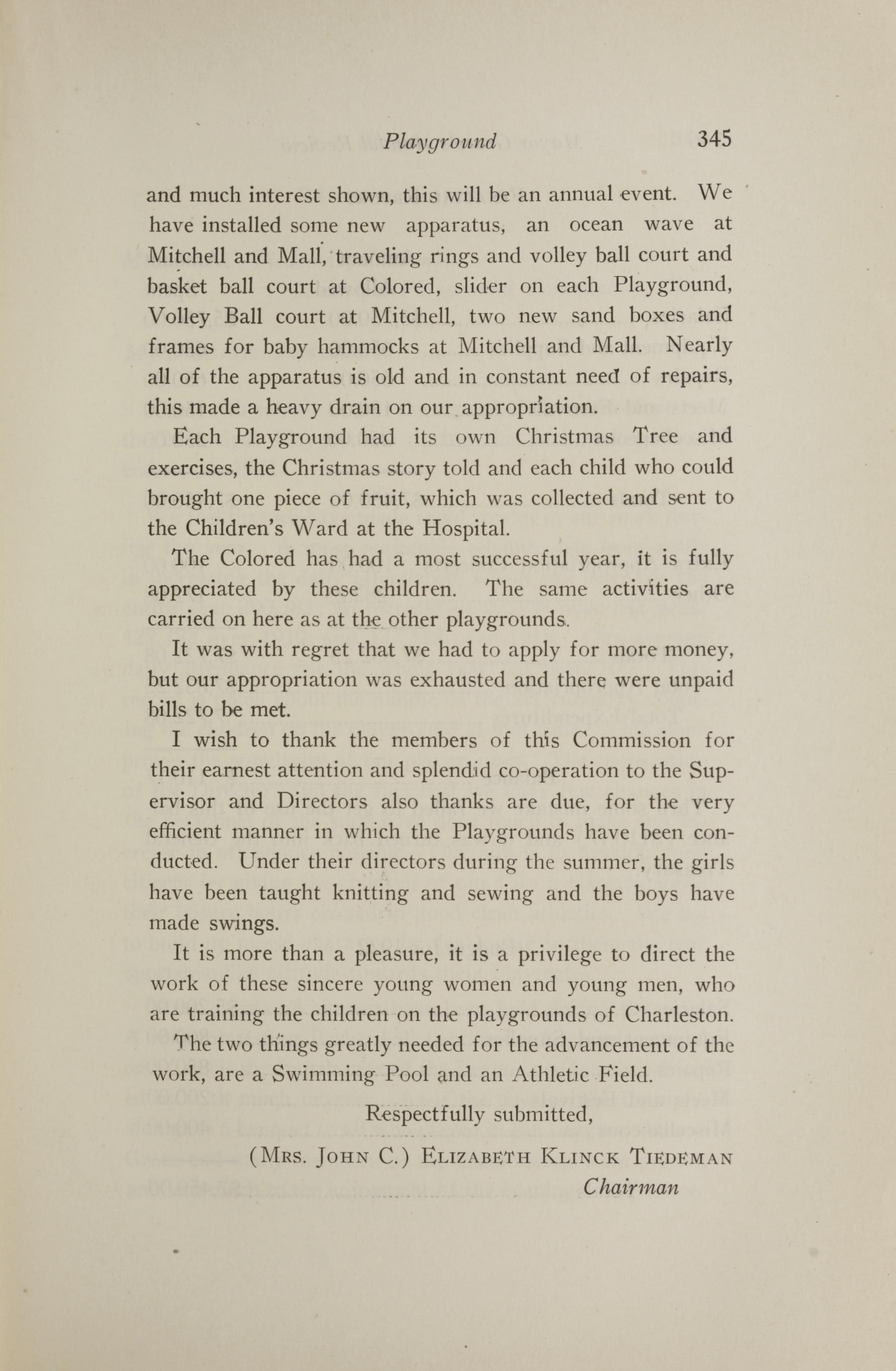 Charleston Yearbook, 1921, page 345