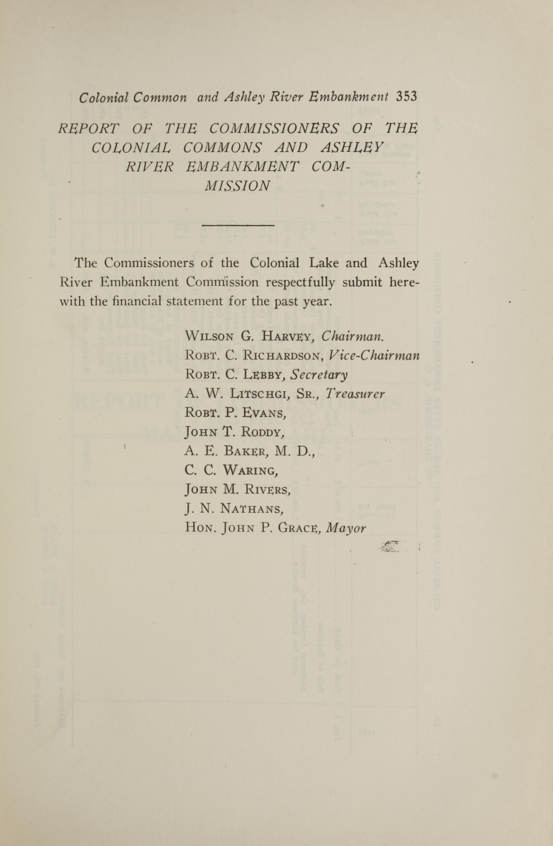 Charleston Yearbook, 1921, page 353