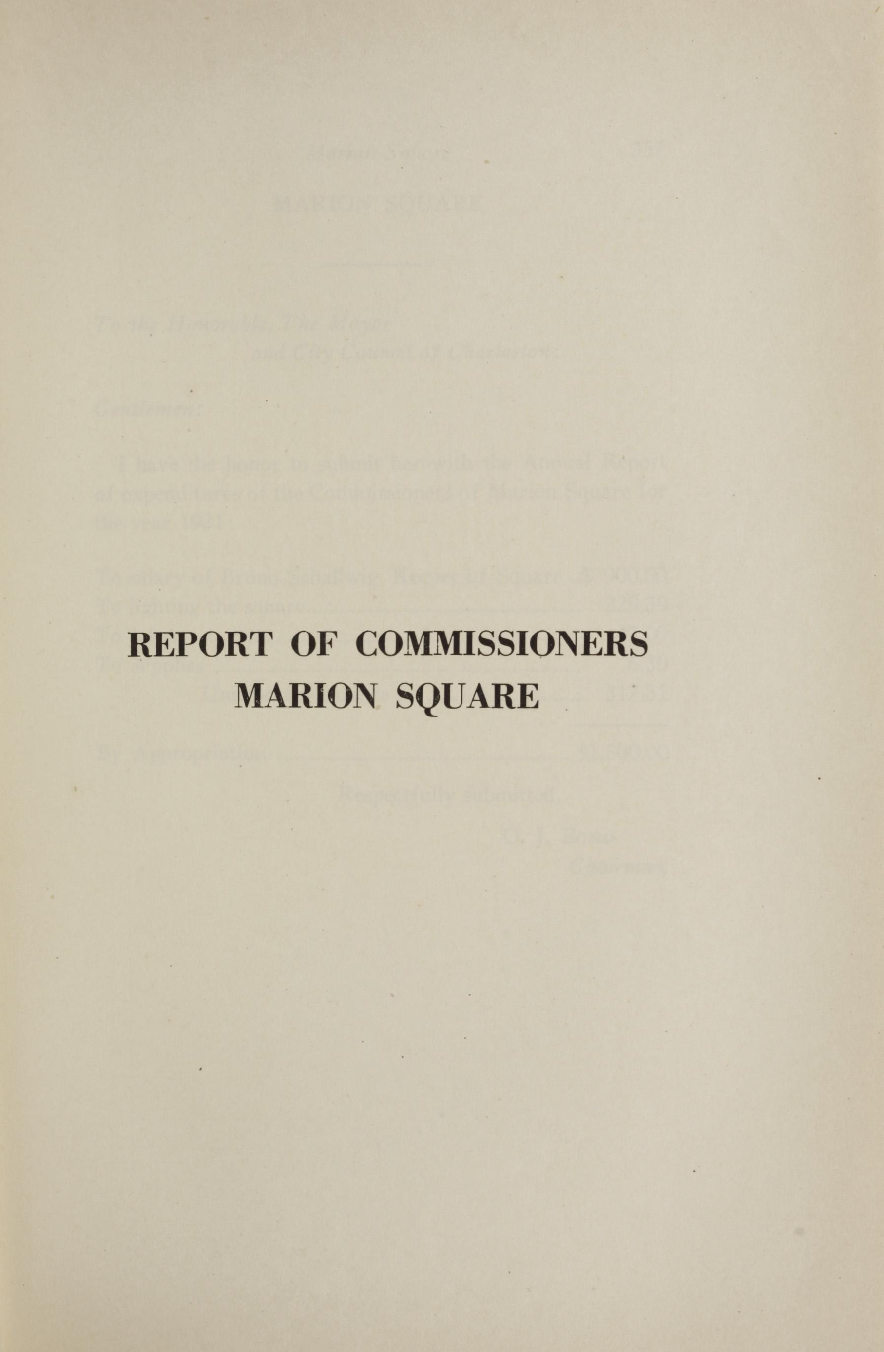 Charleston Yearbook, 1921, page 355