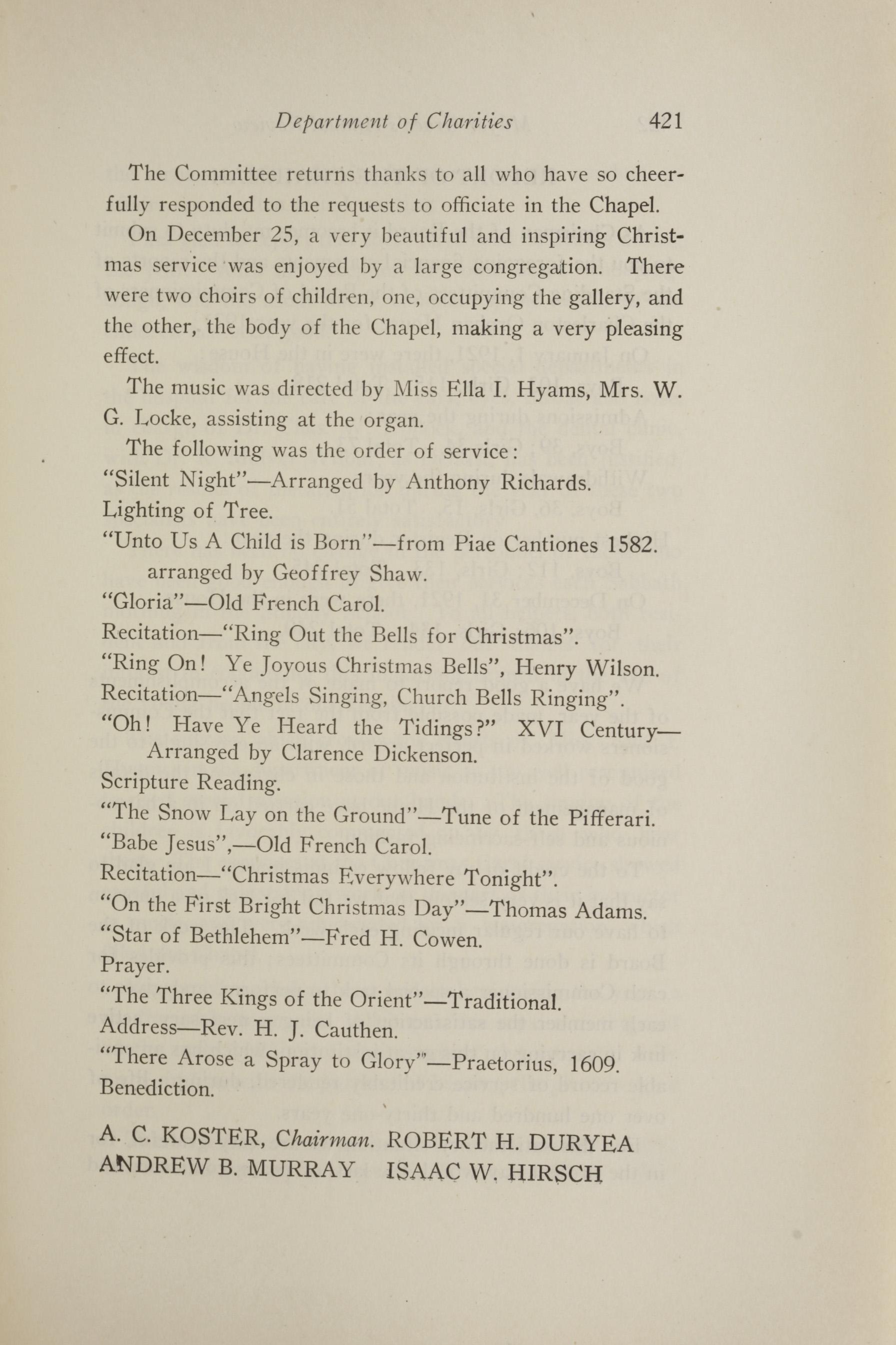Charleston Yearbook, 1921, page 421