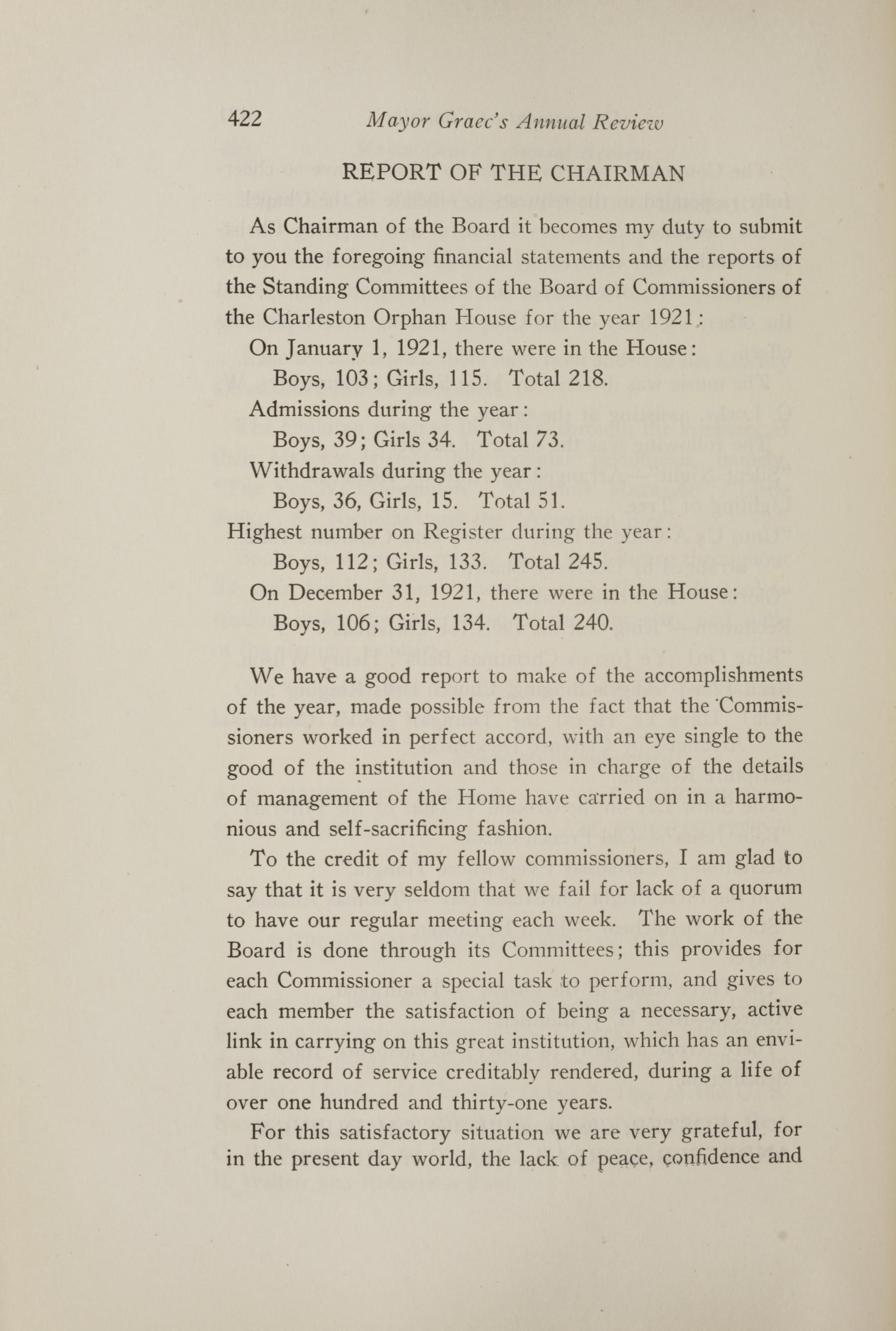 Charleston Yearbook, 1921, page 422