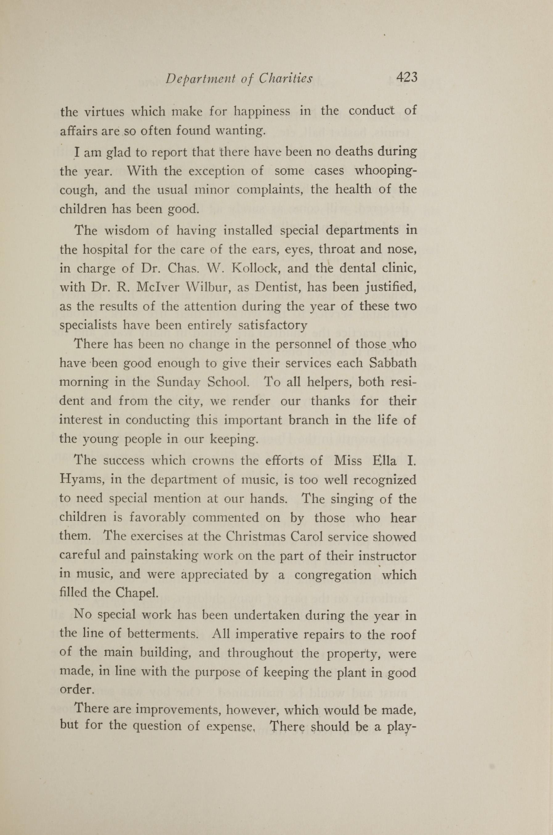 Charleston Yearbook, 1921, page 423