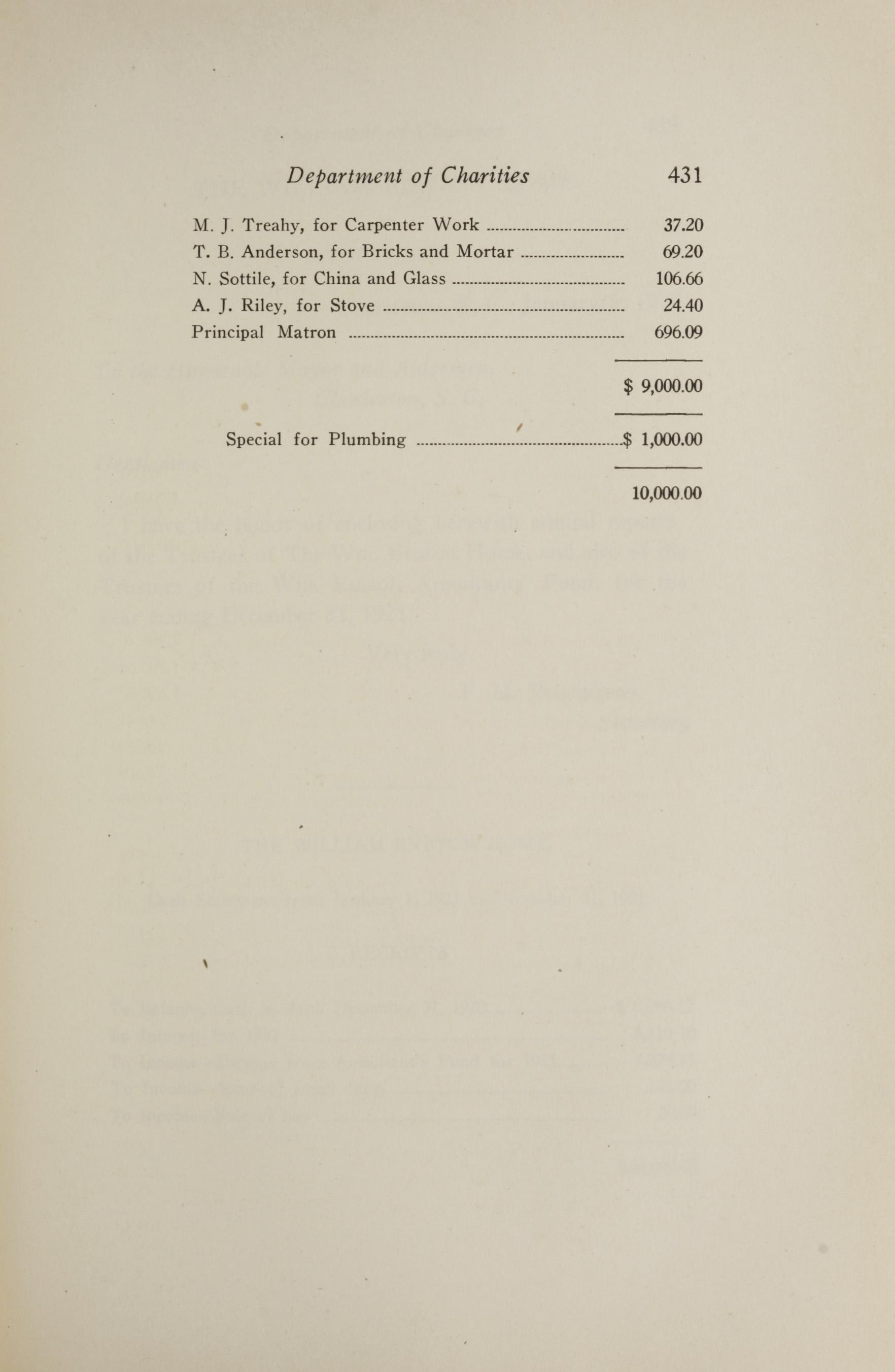 Charleston Yearbook, 1921, page 431