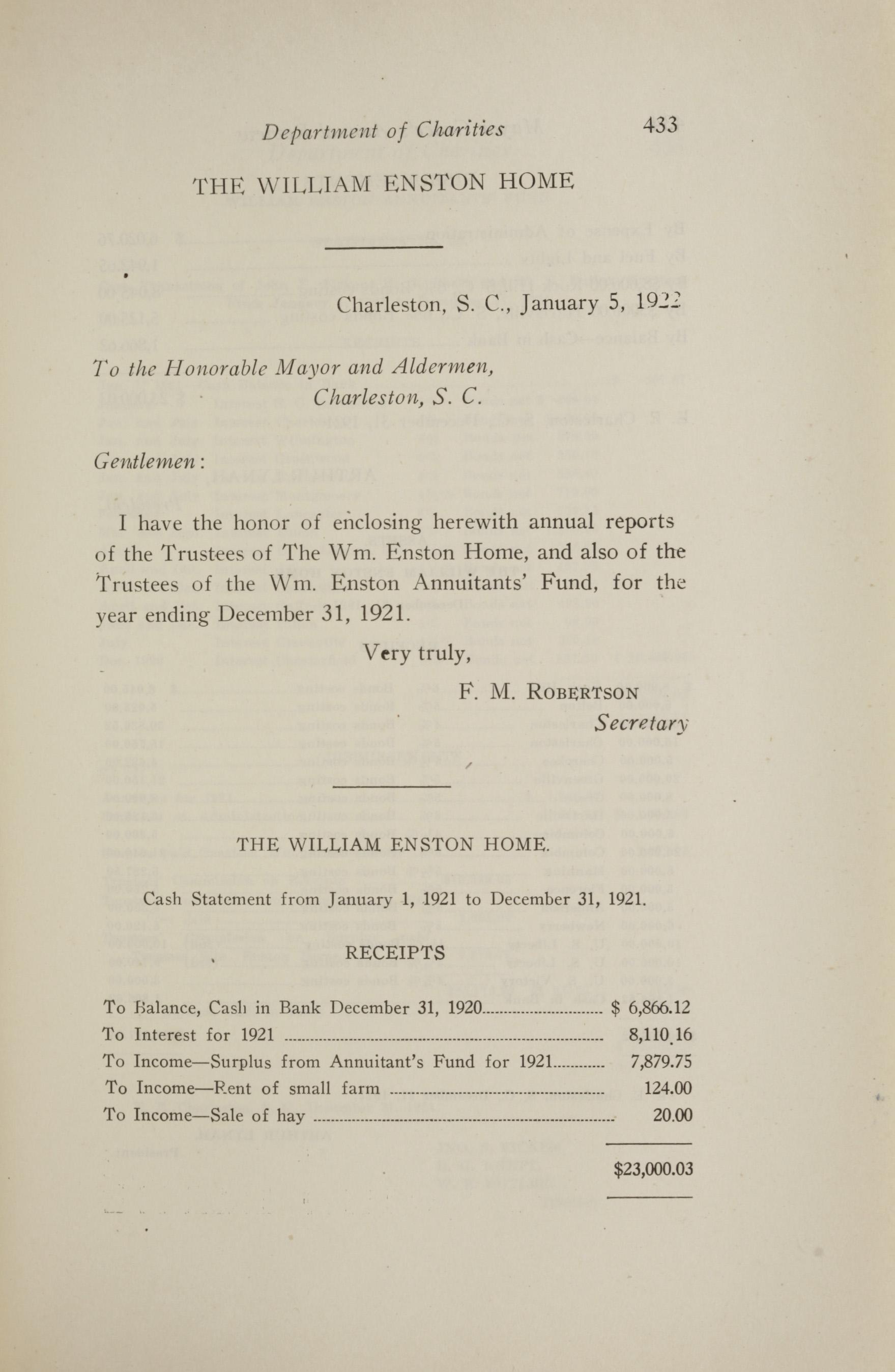 Charleston Yearbook, 1921, page 433