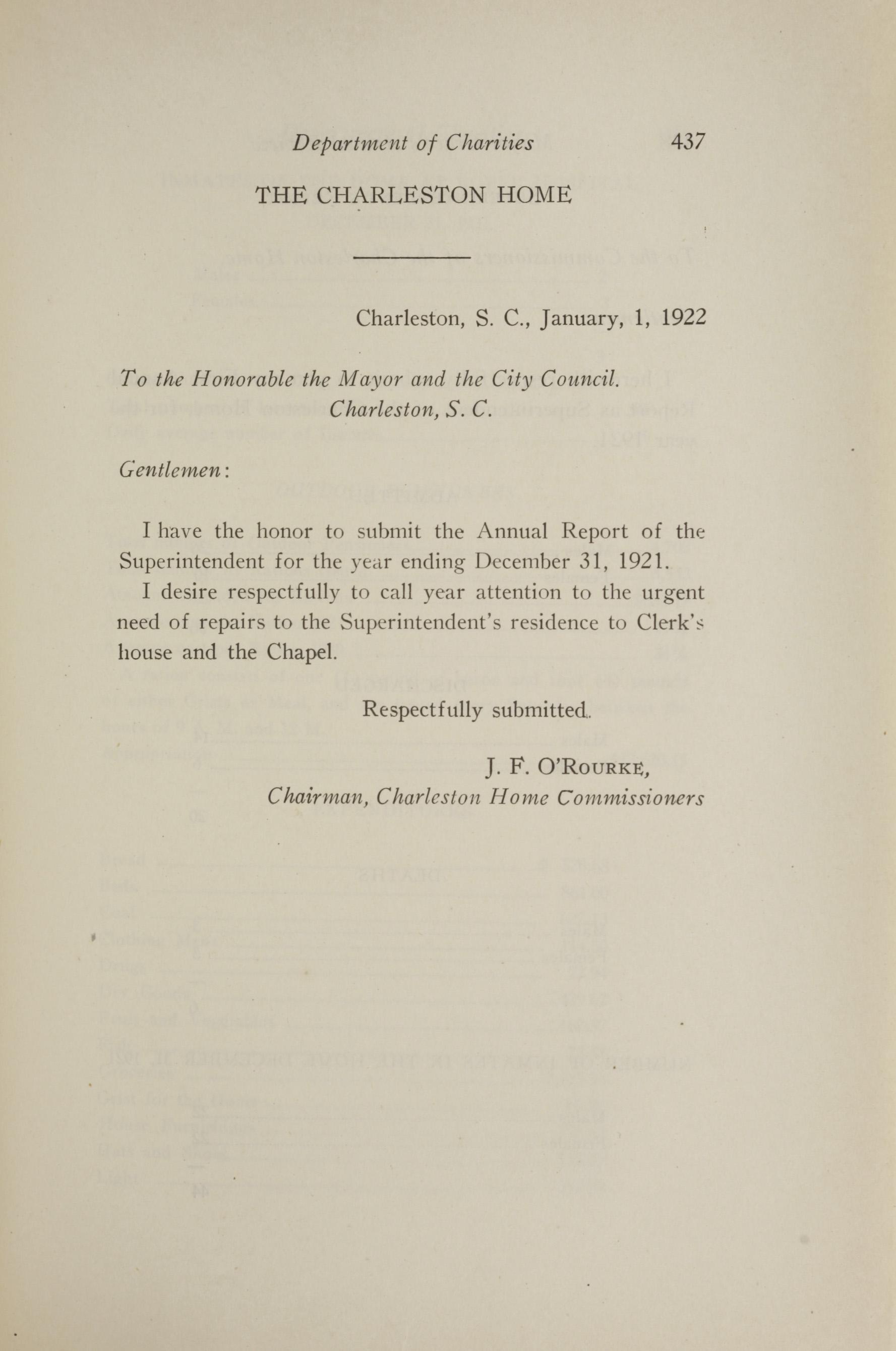 Charleston Yearbook, 1921, page 437