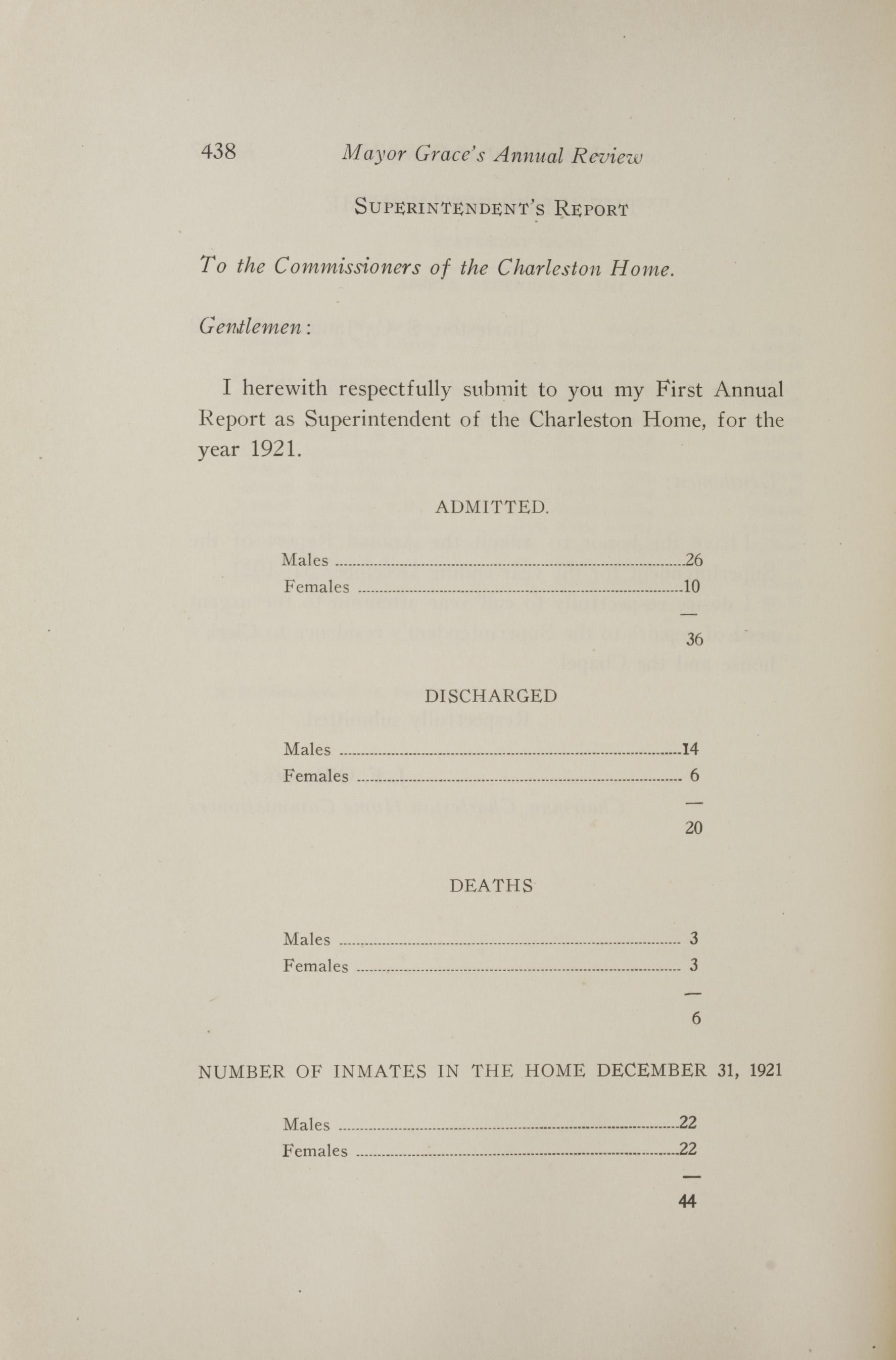Charleston Yearbook, 1921, page 438