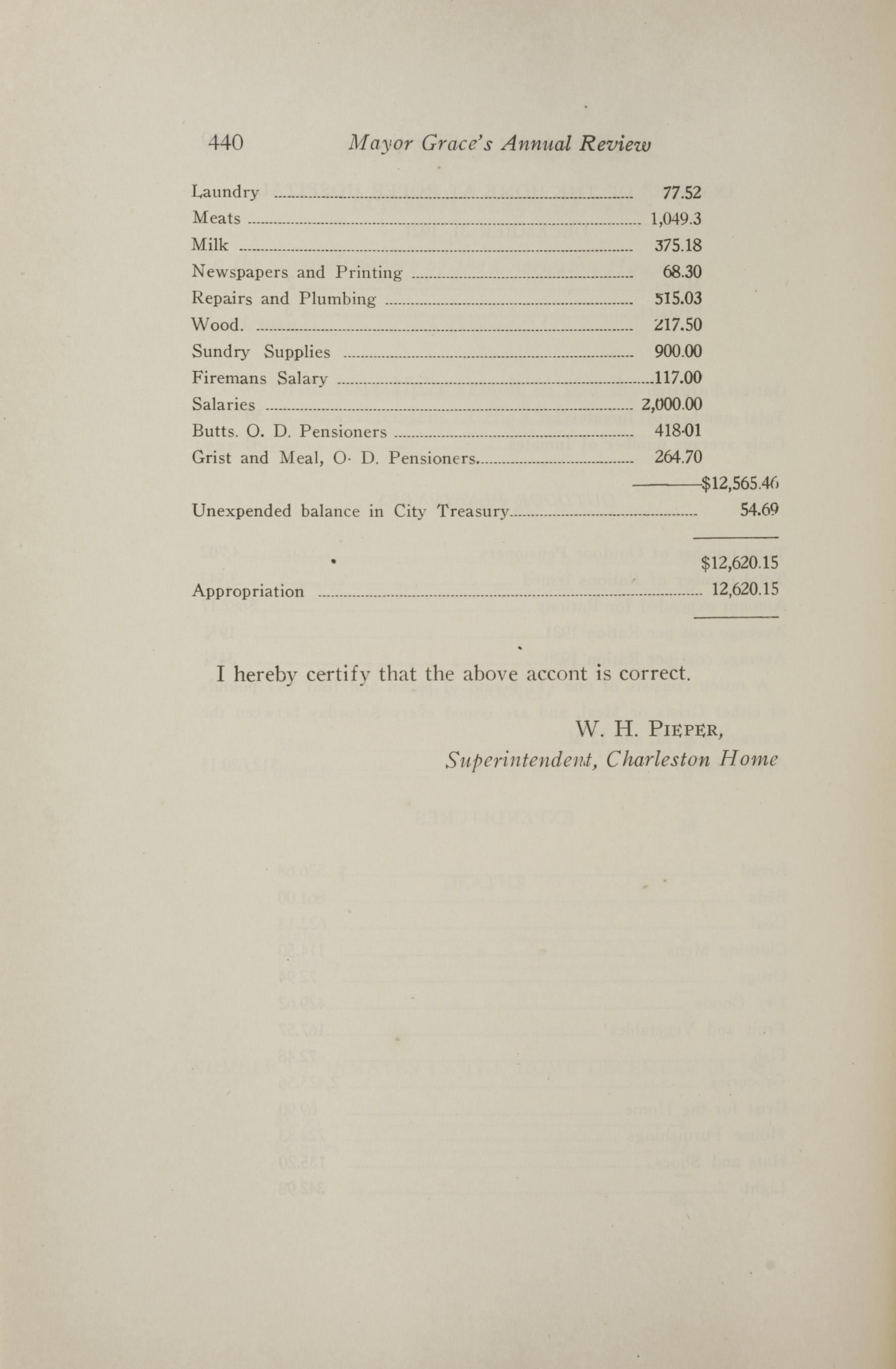 Charleston Yearbook, 1921, page 440