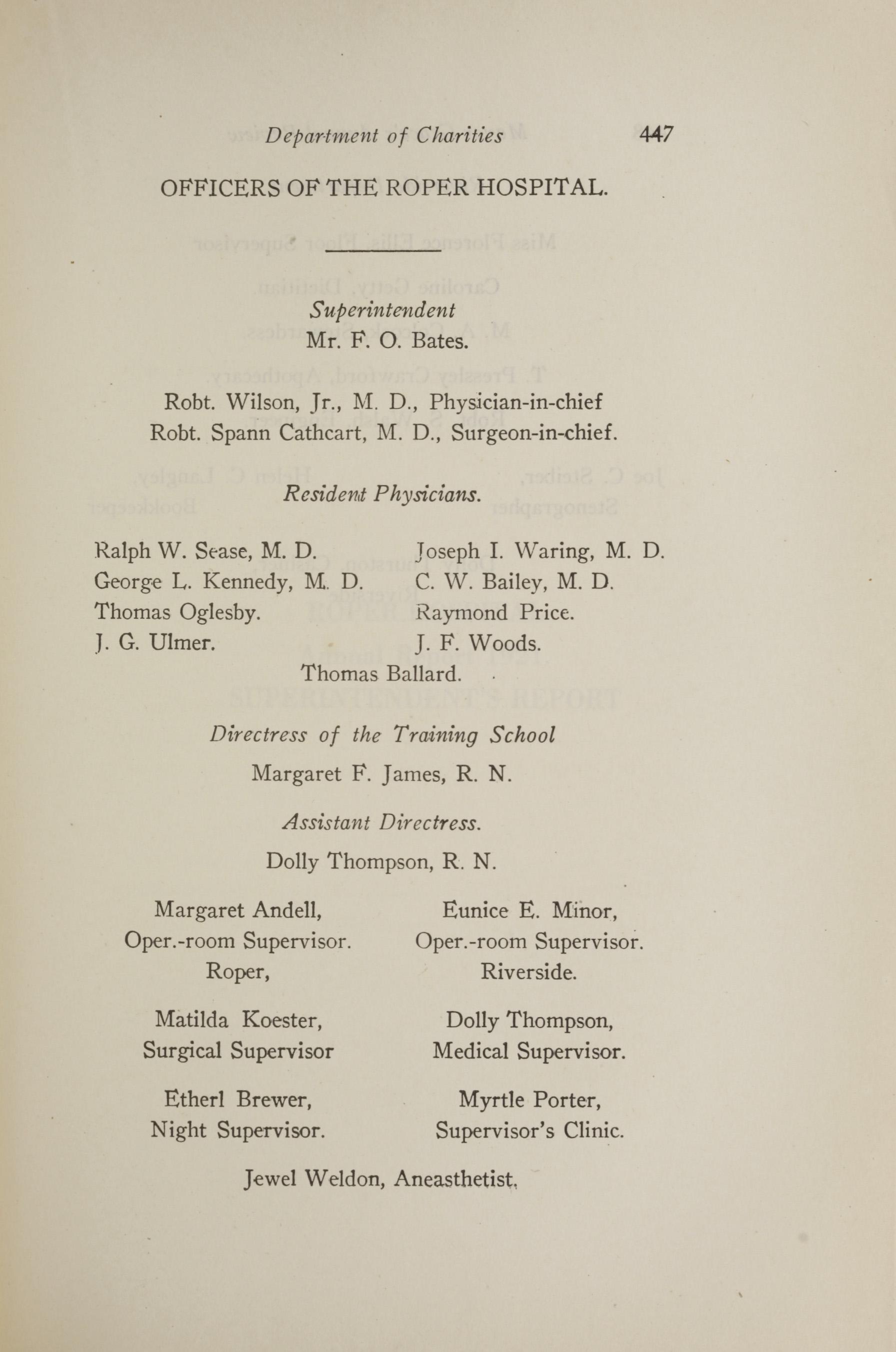 Charleston Yearbook, 1921, page 447