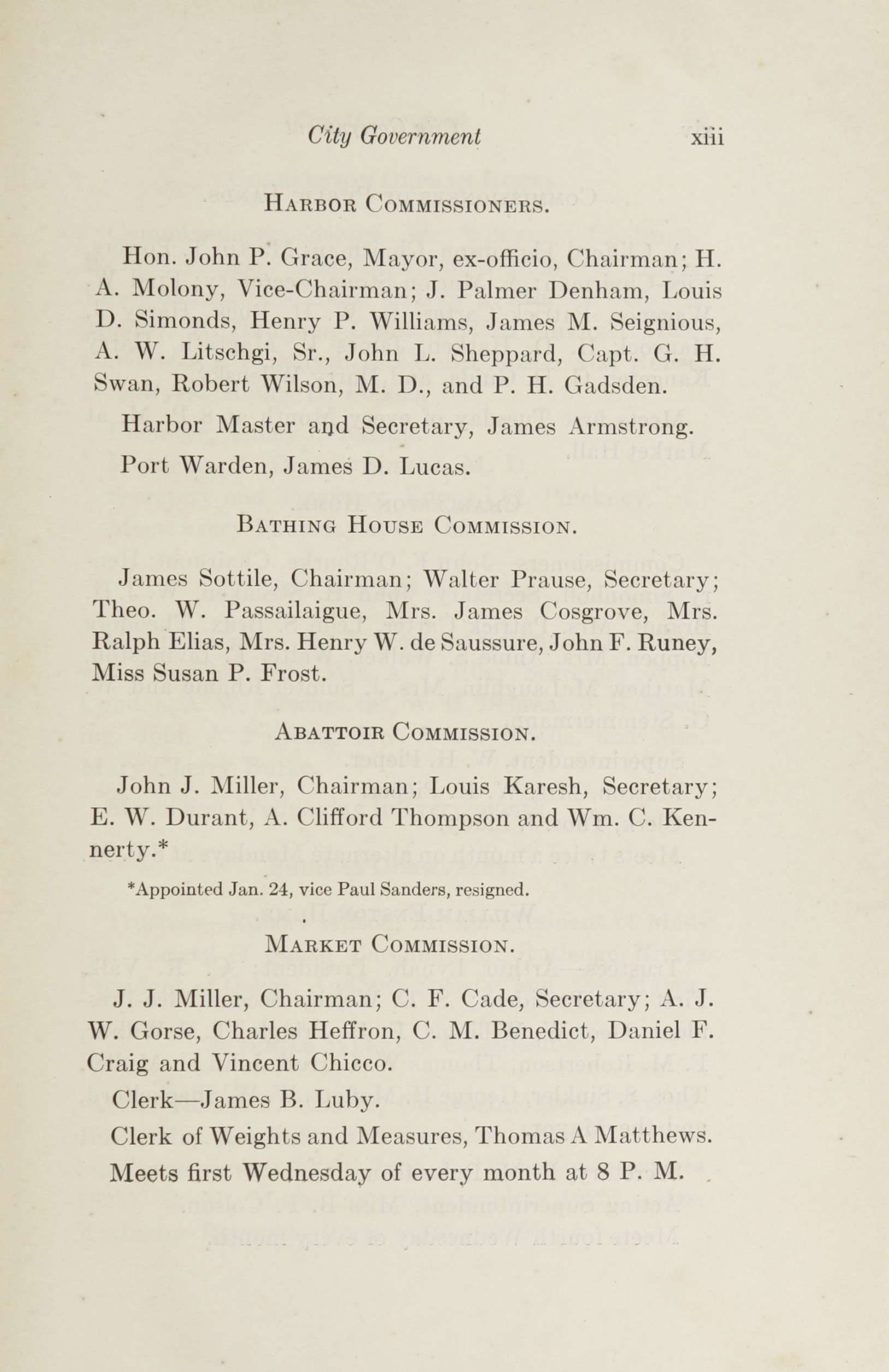 Charleston Yearbook, 1922, page xiii